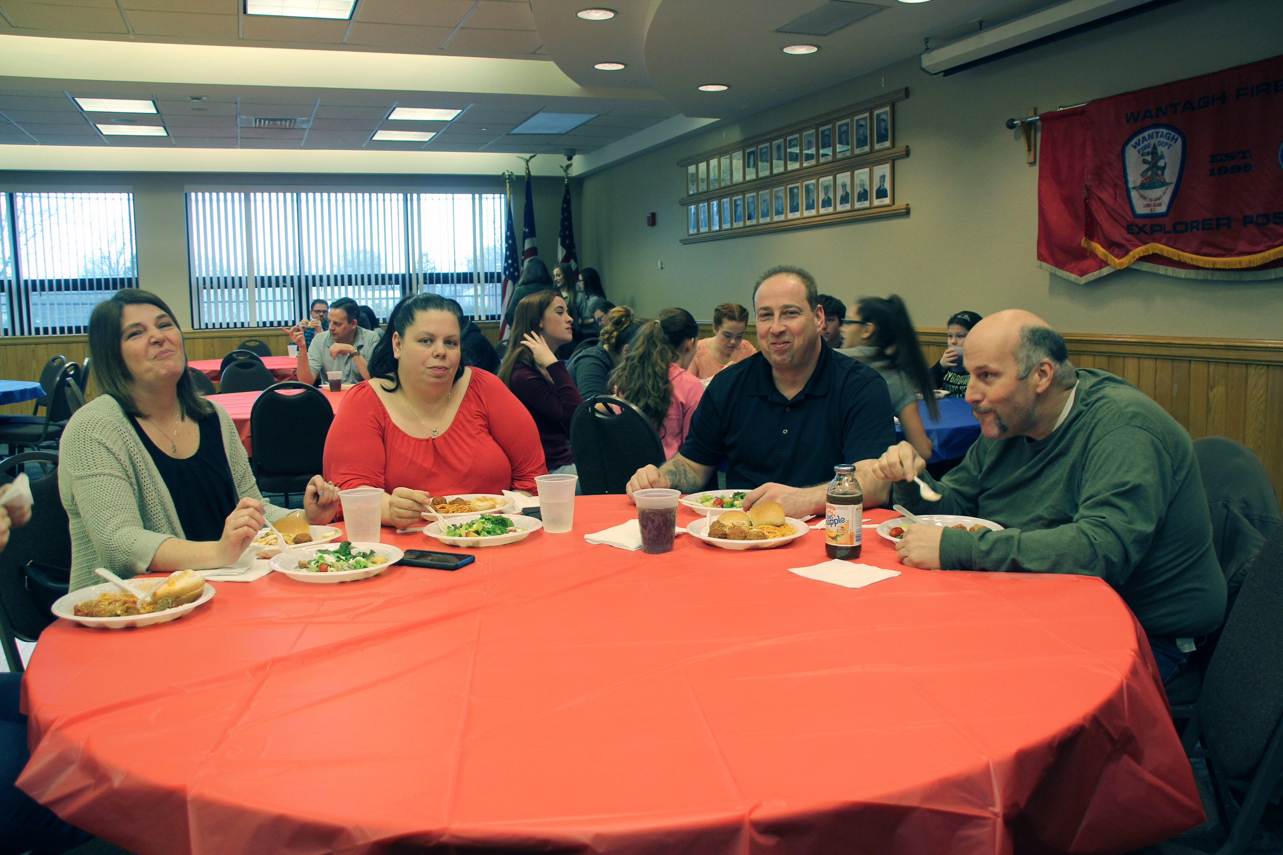 Wantagh, Seaford and Levittown residents attended the fundraiser.