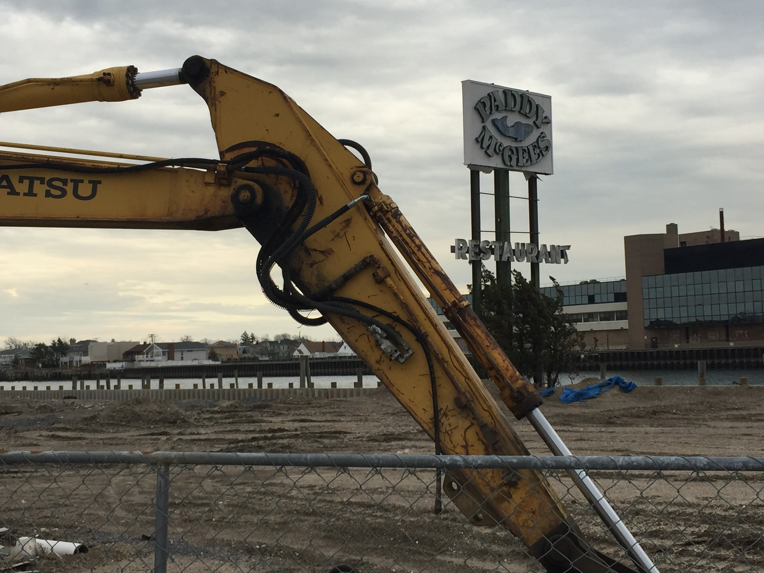 John Vitale, owner of the property that formerly held Paddy McGee's and the Coyote Grill, is seeking to build an apartment complex along Reynolds Channel.