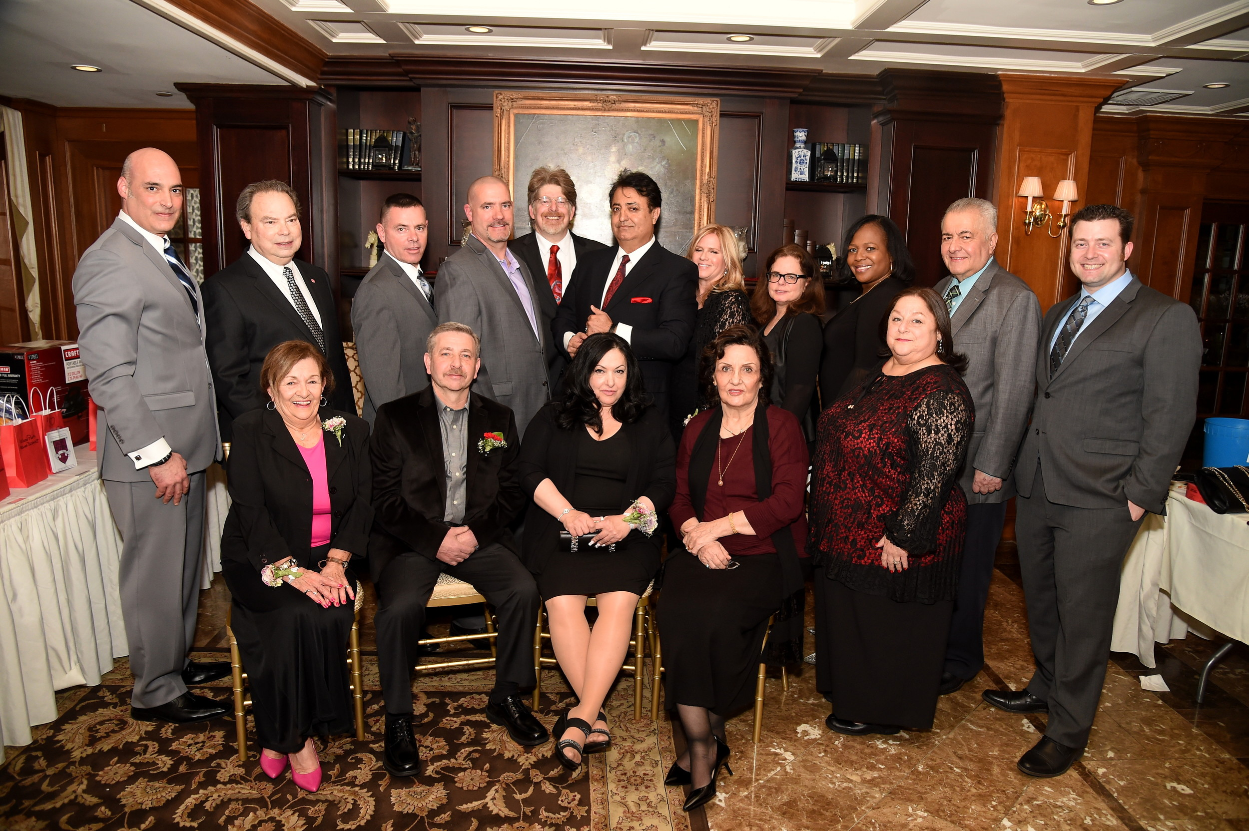 Island Park Chamber of Commerce members joined honorees at its 67th annual Awards Dinner & Dance at Bridgeview Yacht Club on March 30.