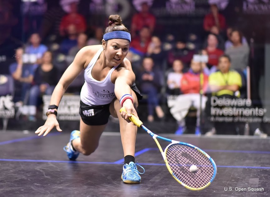 Amanda Sobhy, 23, is currently ranked as the No. 1 squash player in the U.S. She hopes to return to her prominence after she recovers from her ruptured Achilles.