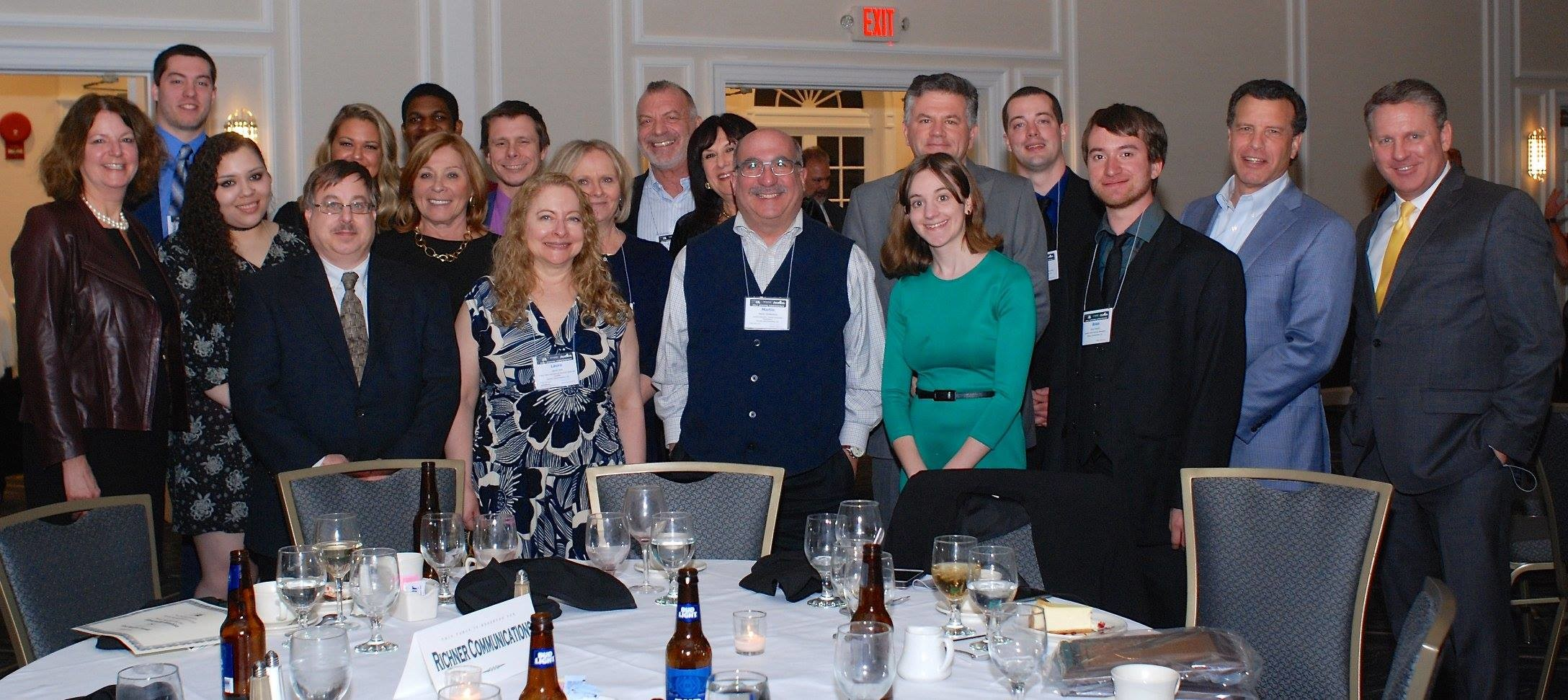The Herald Community Newspapers crew at the New York Press Association convention in Saratoga Springs, N.Y., last weekend.