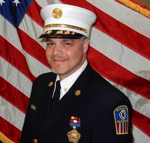 Brian Cook is the new chief of the village Fire Department, replacing Bob Seaman.