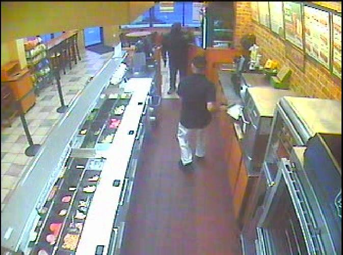 Police released this photo of the suspect Monday.