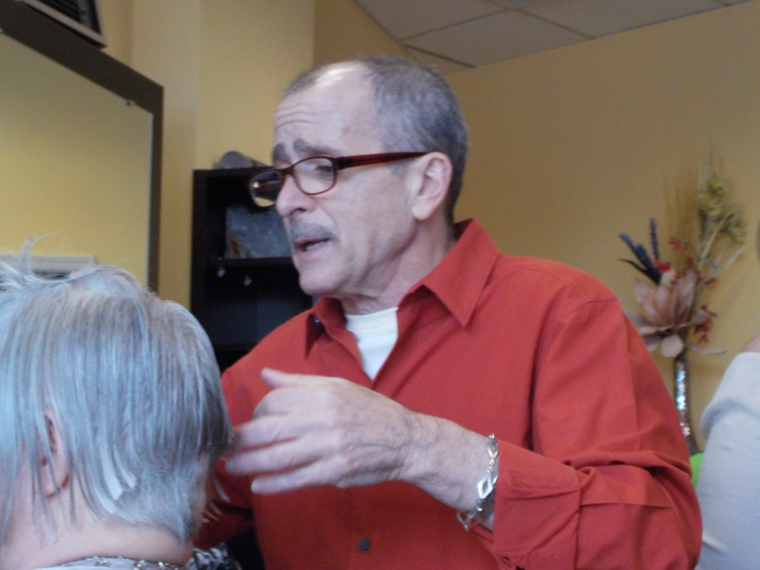 Tony Sarica has cut hair for 46 years, 43 of them in Lynbrook.