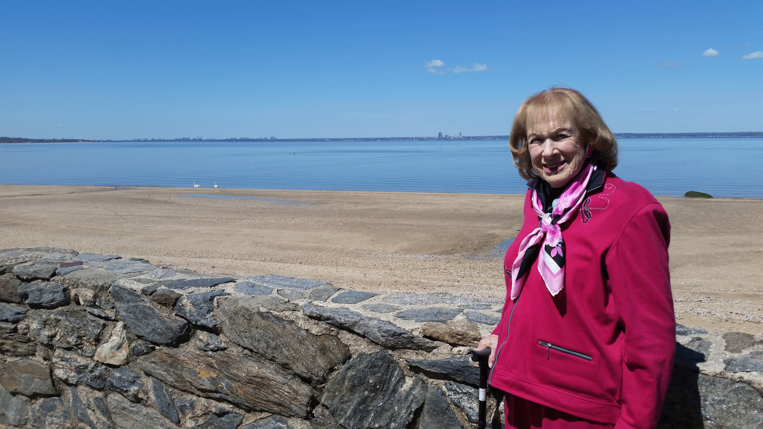 Dr. Helen Greene, a resident, spent many summers at the beach with her family, but hasn't set foot there since it closed.
