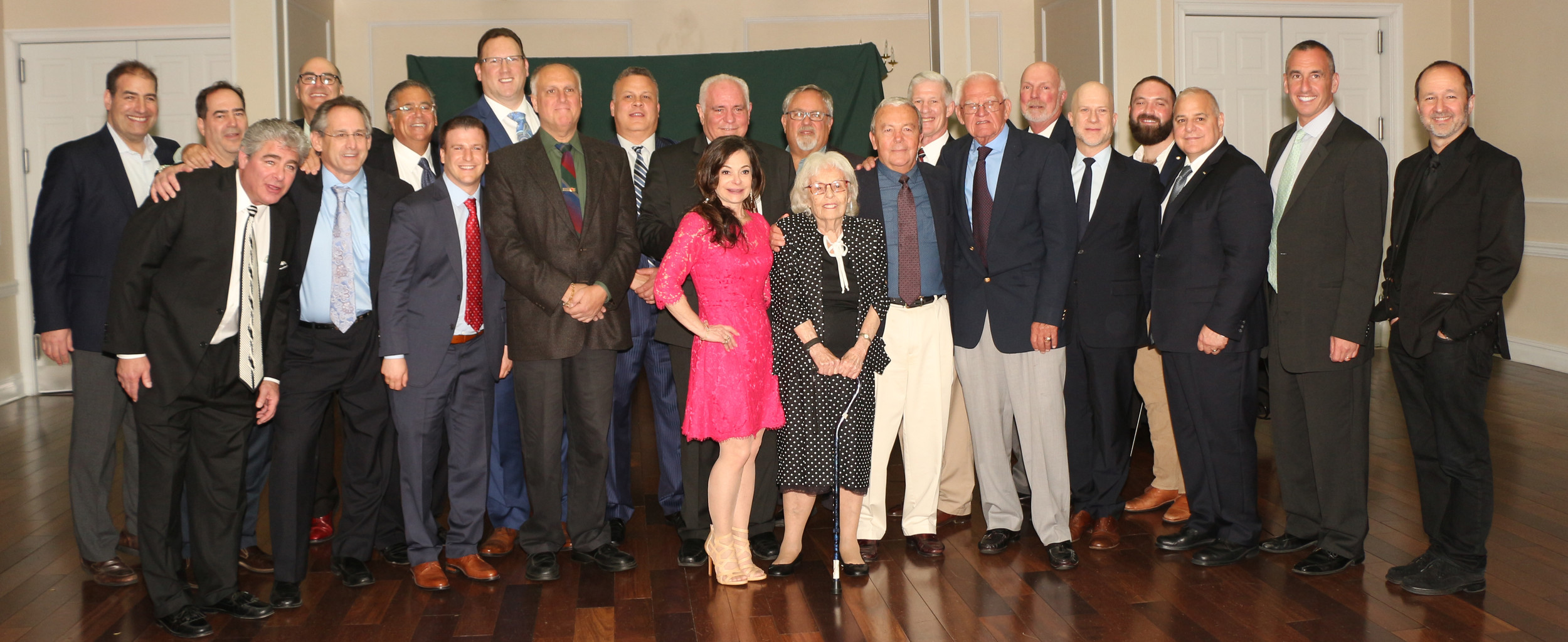 Coinciding with Bellmore's JFK High School's 50th anniversary, 13 former students were inducted into the school's Hall of Fame, and two teachers into its Wall of Honor. Alumni included Lyle Phillips, Richard Jackson, Steven Lutvak, Mark Proctor, Joseph Alagna, Howard Riina, Craig Greben, Michael Greenberg, Wayne Levinson, Thomas Buda, Merrick Wetzler, David Silverberg and Jonathan Haas. The faculty members were Shula Hirsch and Gregory Maushart.