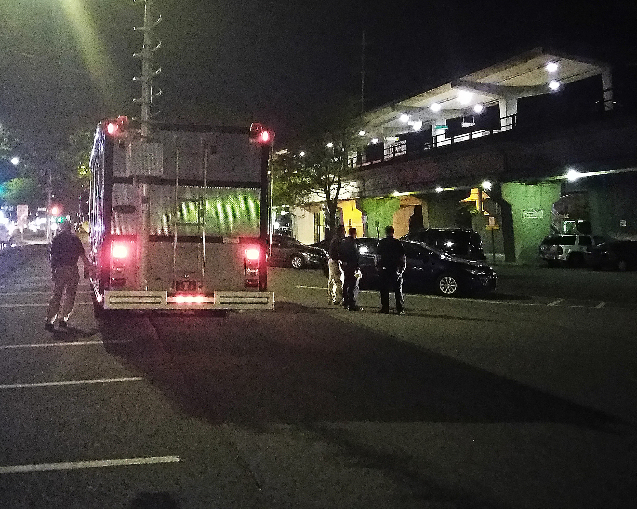 The bomb squad was called to the Long Island Railroad station in Bellmore on Tuesday night after a report of a suspicious package.