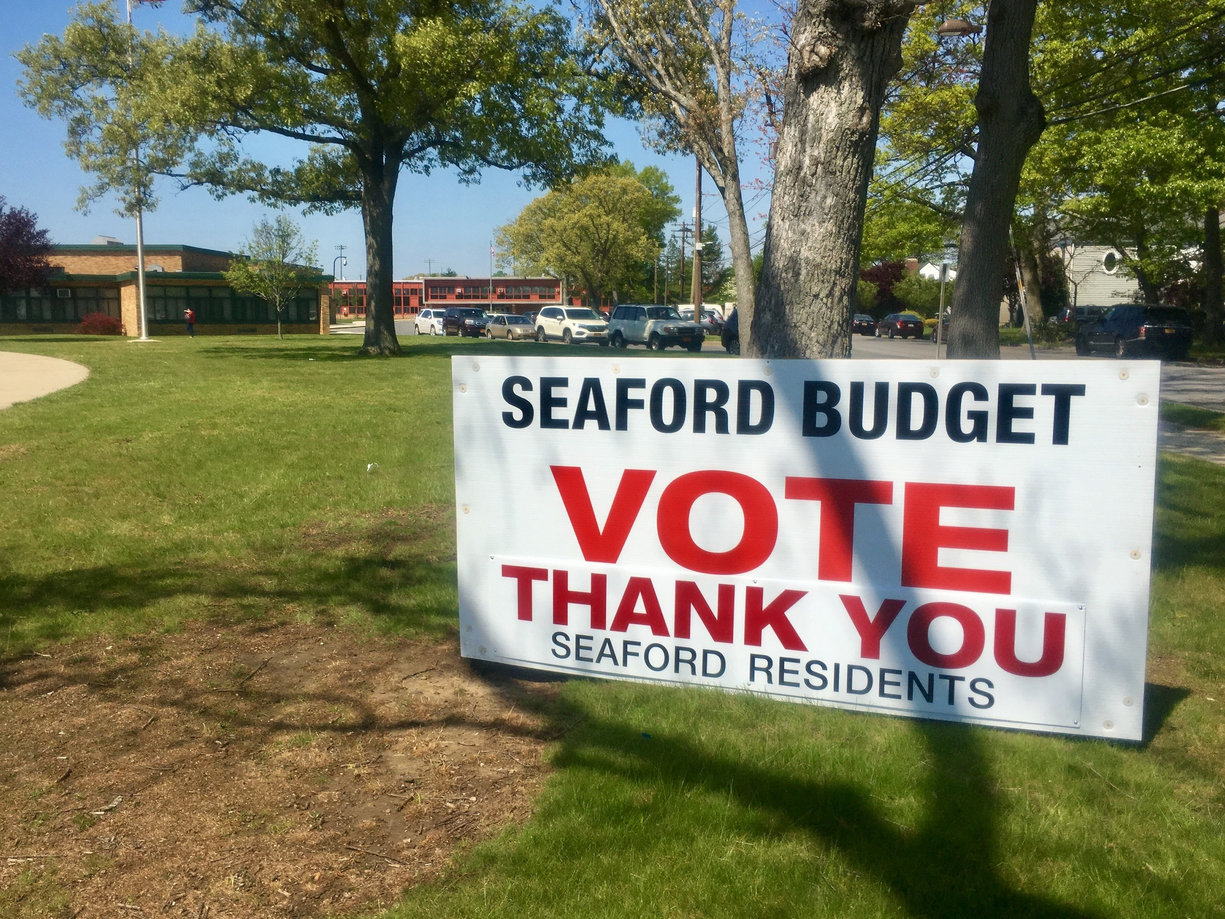 Seaford officials said that they were grateful to the community for passing the budget.