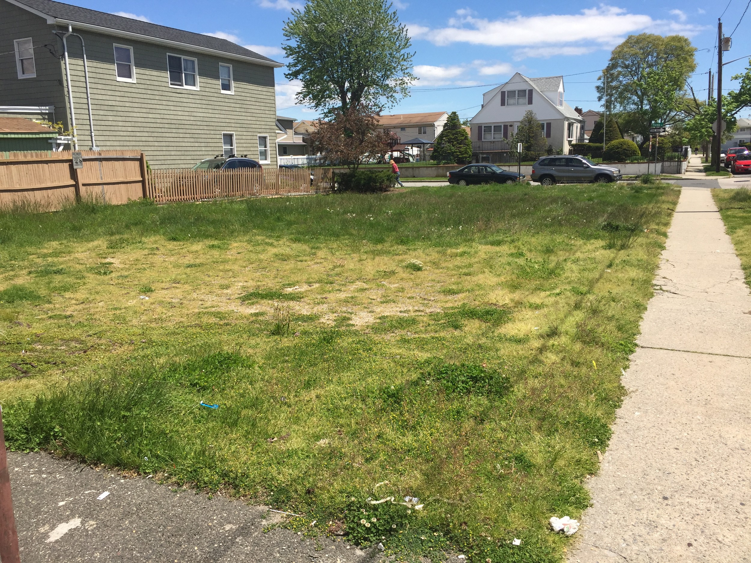 "The longtime vacant lot at the corner of Sagamore and Parma roads was purchased, and is ""destined to be a beautiful single-family house,"" Island Park Mayor Michael McGinty said."