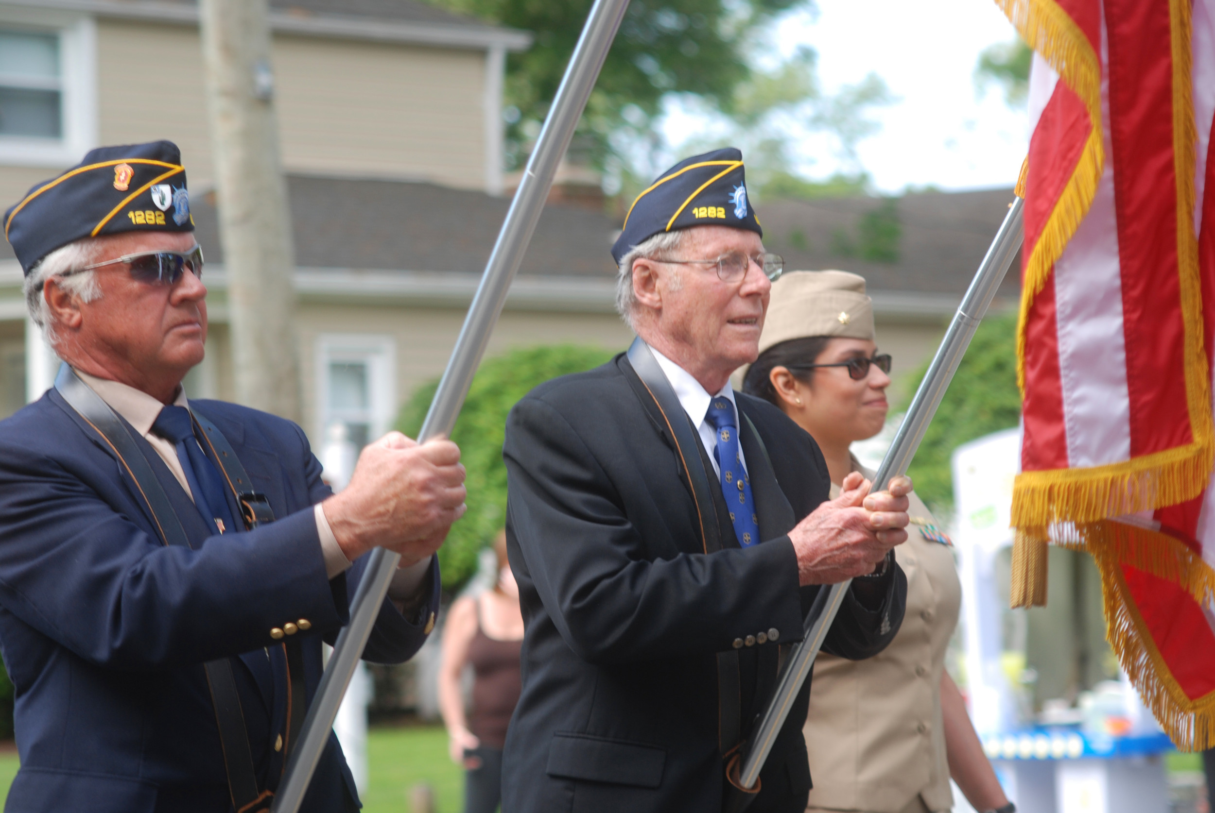 A scene from Merrick's Memorial Day Parade in 2015.