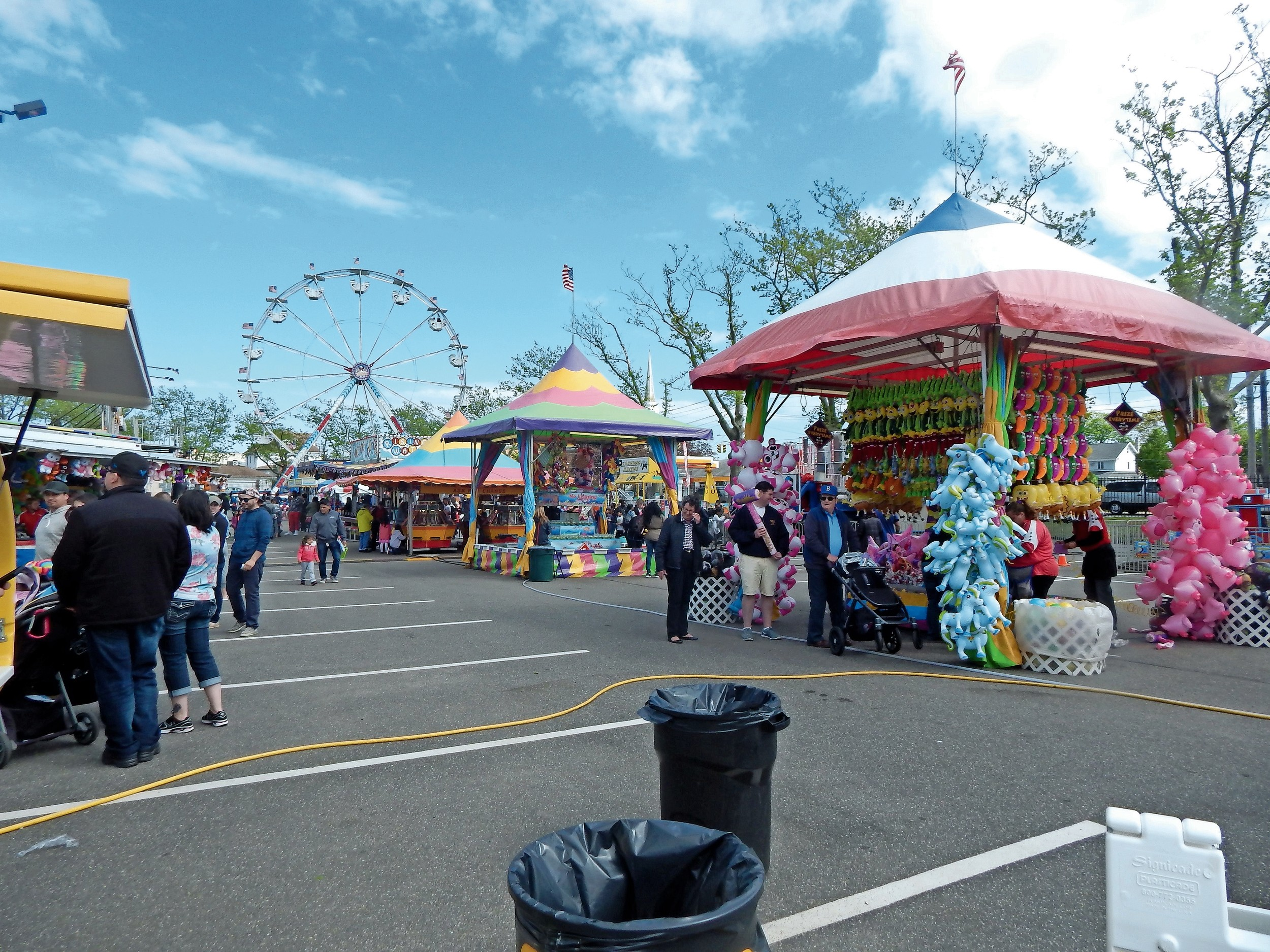 The second-annual carnival was held May 6th at the Arthur J. Hendrickson pool parking lot.
