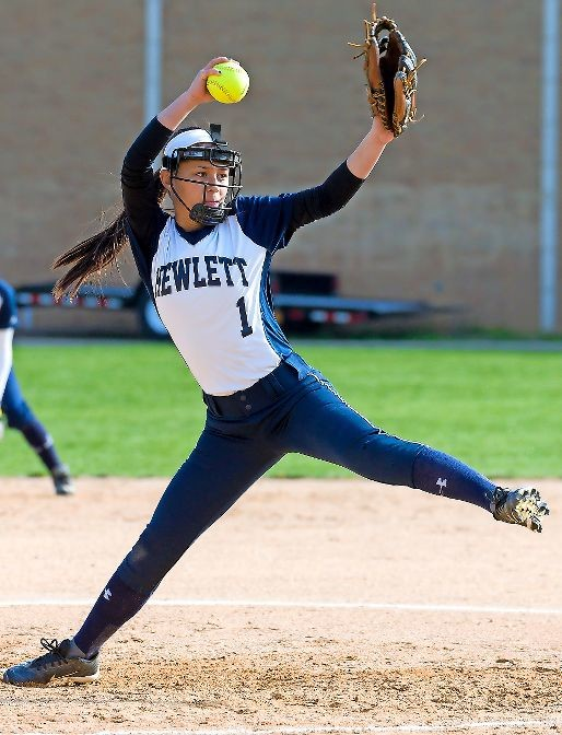 Eighth-grade pitcher Valarie Liao-Greene helped the Lady Bulldogs claim the Conference ABC-IV title with a 13-1 record. She recorded 11 of those wins.