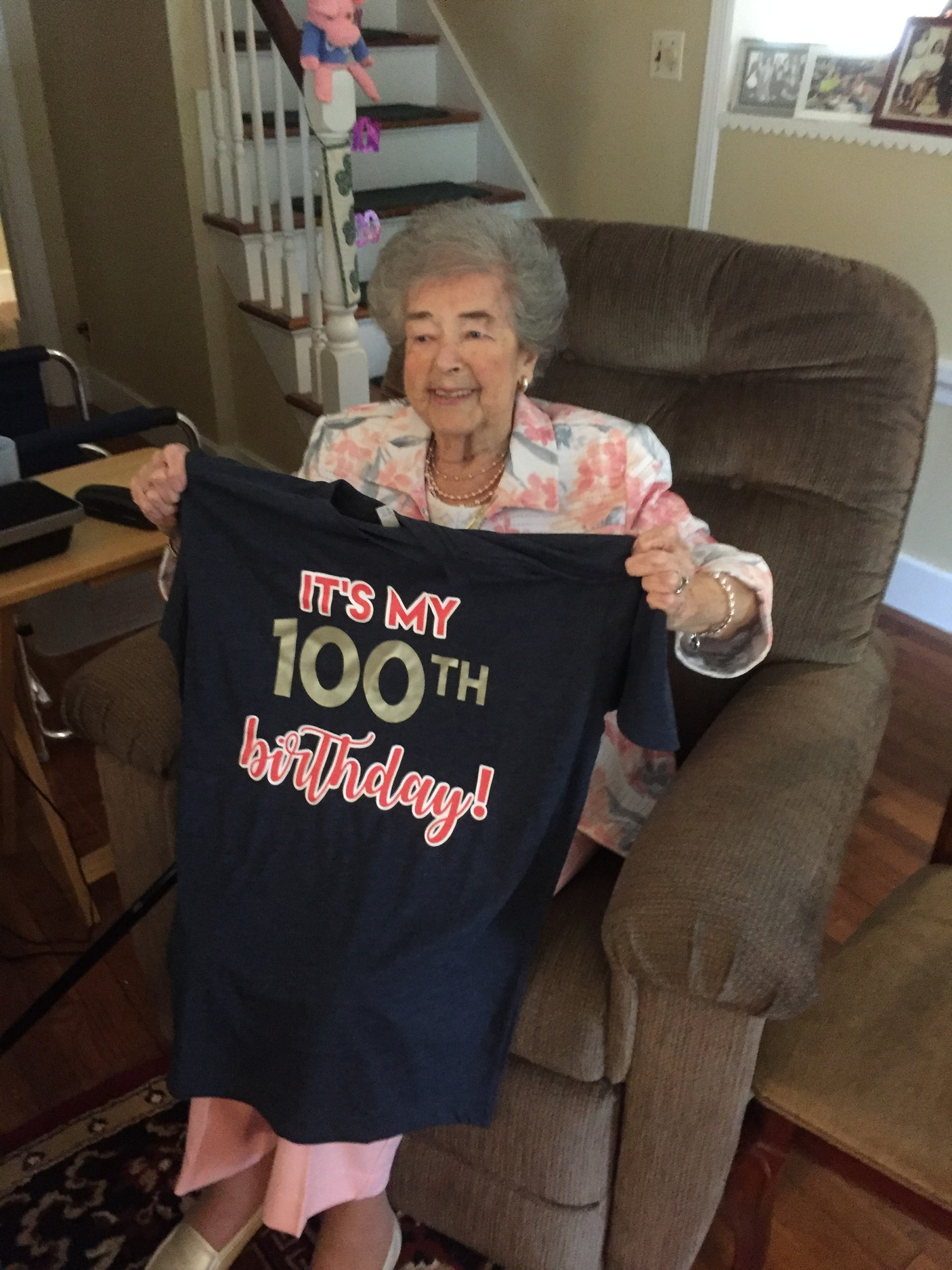 East Rockaway Resident Virginia Walsh Turned 100 On May 19 And Had A Celebration At Her