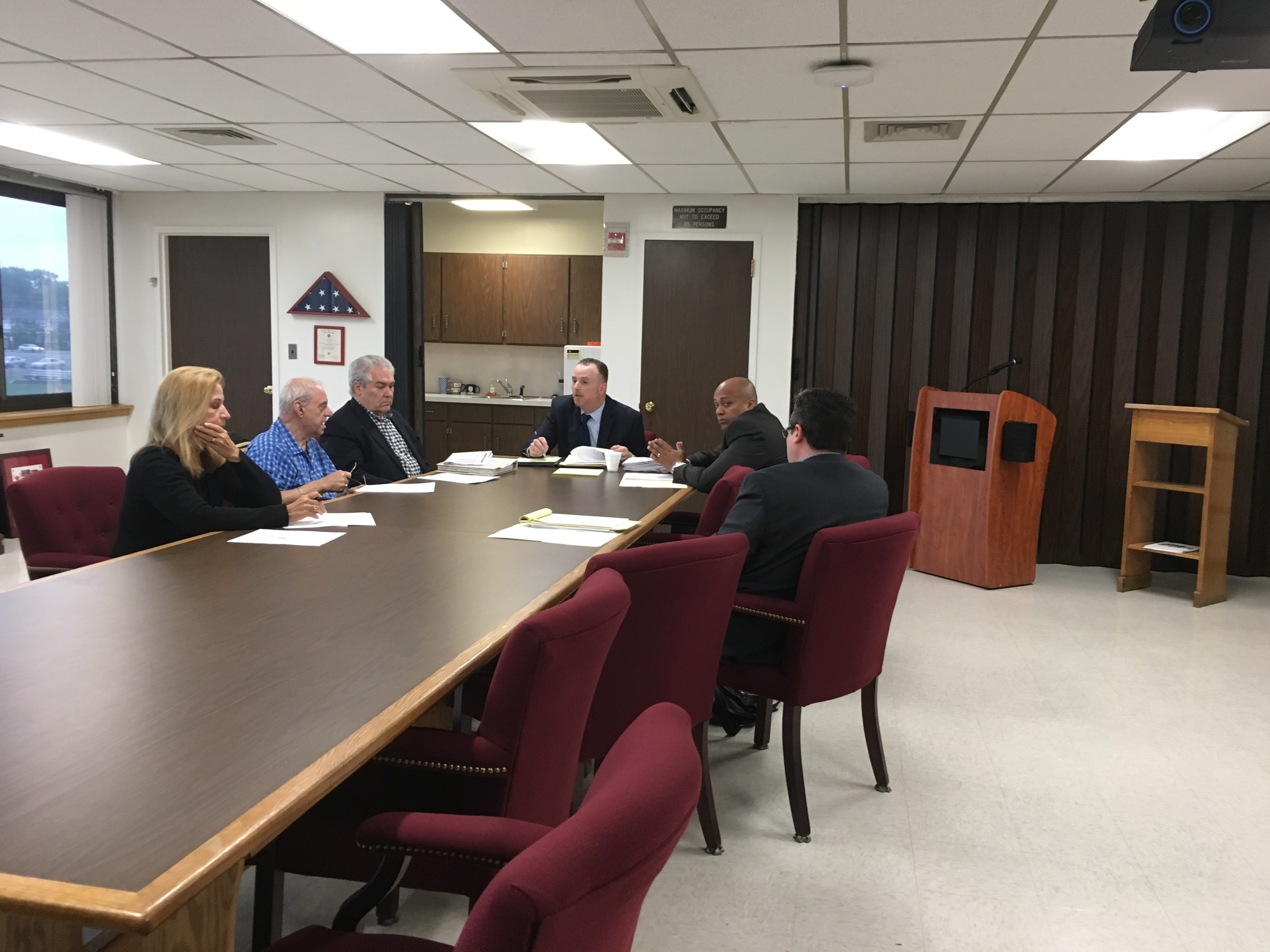 The Residency Advisory Committee met on May 30 to discuss its effectiveness this past year. The committee includes members of Central High School District's Board of Education as well as Clifford Odell, the district's assistant superintendent for personnel and administration.