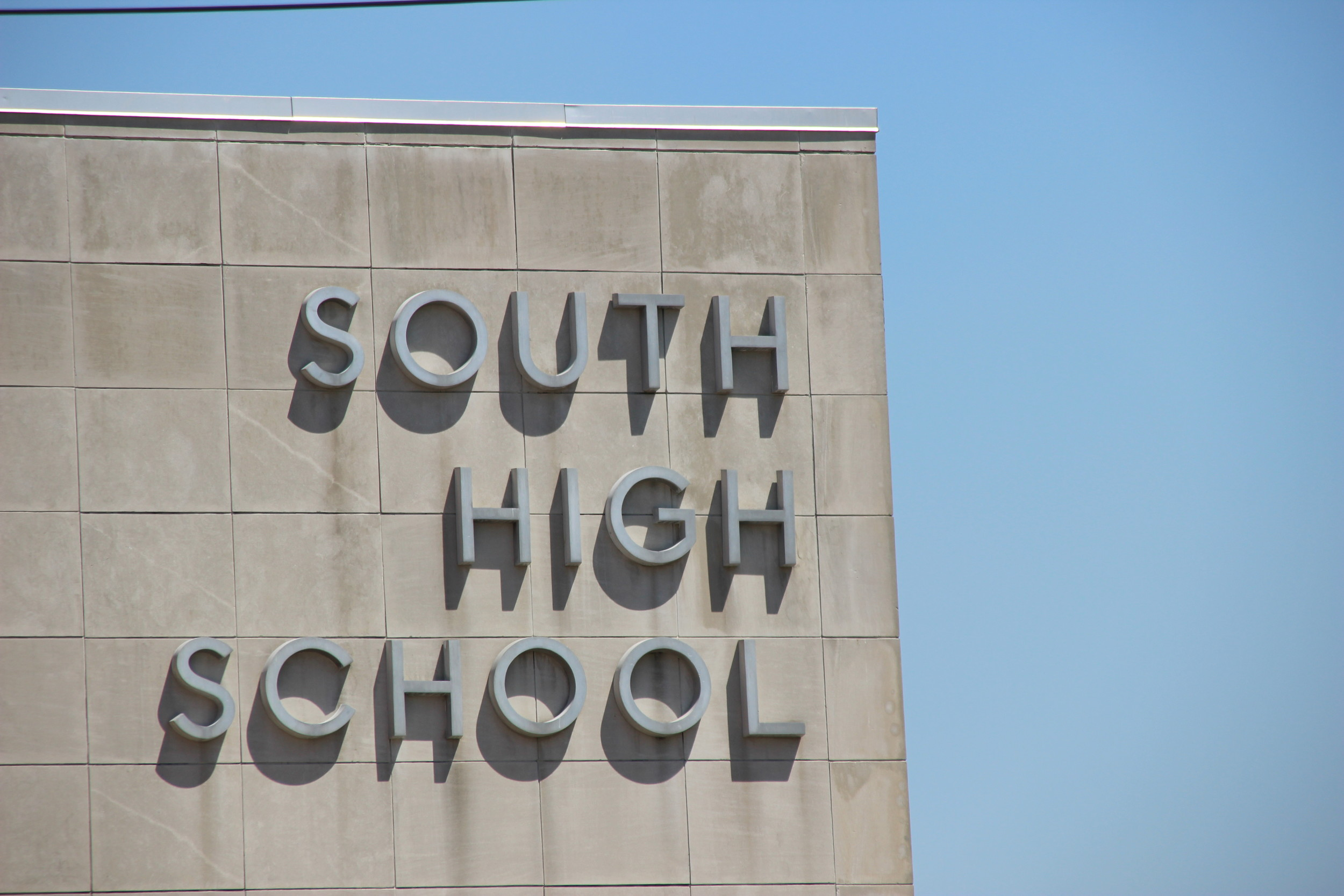 Students at South High School petitioned Principal Maureen Henry and Superintendent Bill Heidenreich to reinstate a project that was stopped.