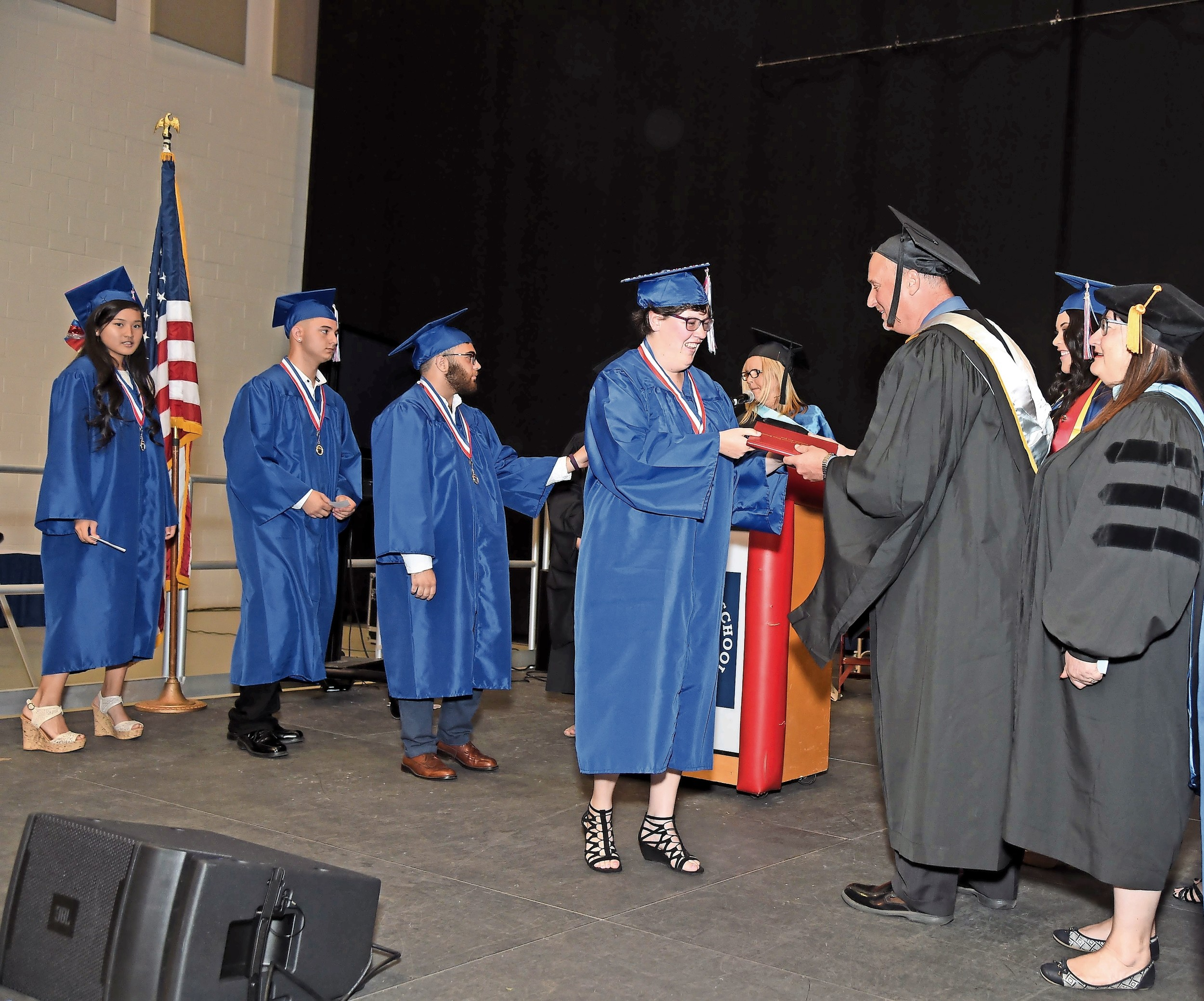 Katie Butler received her diploma.