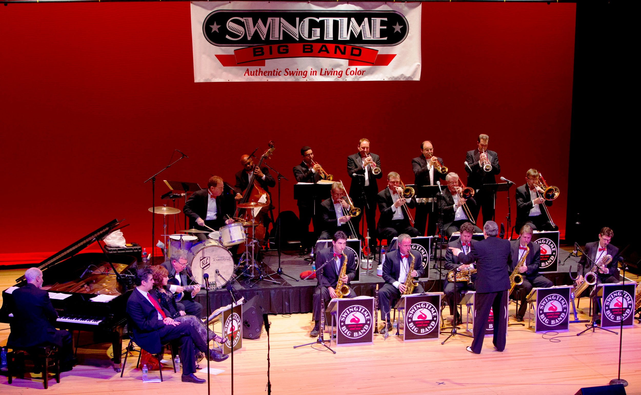 Swingtime Big Band will perform at Hall's Pond Park's gazebo on Sunday, July 23.