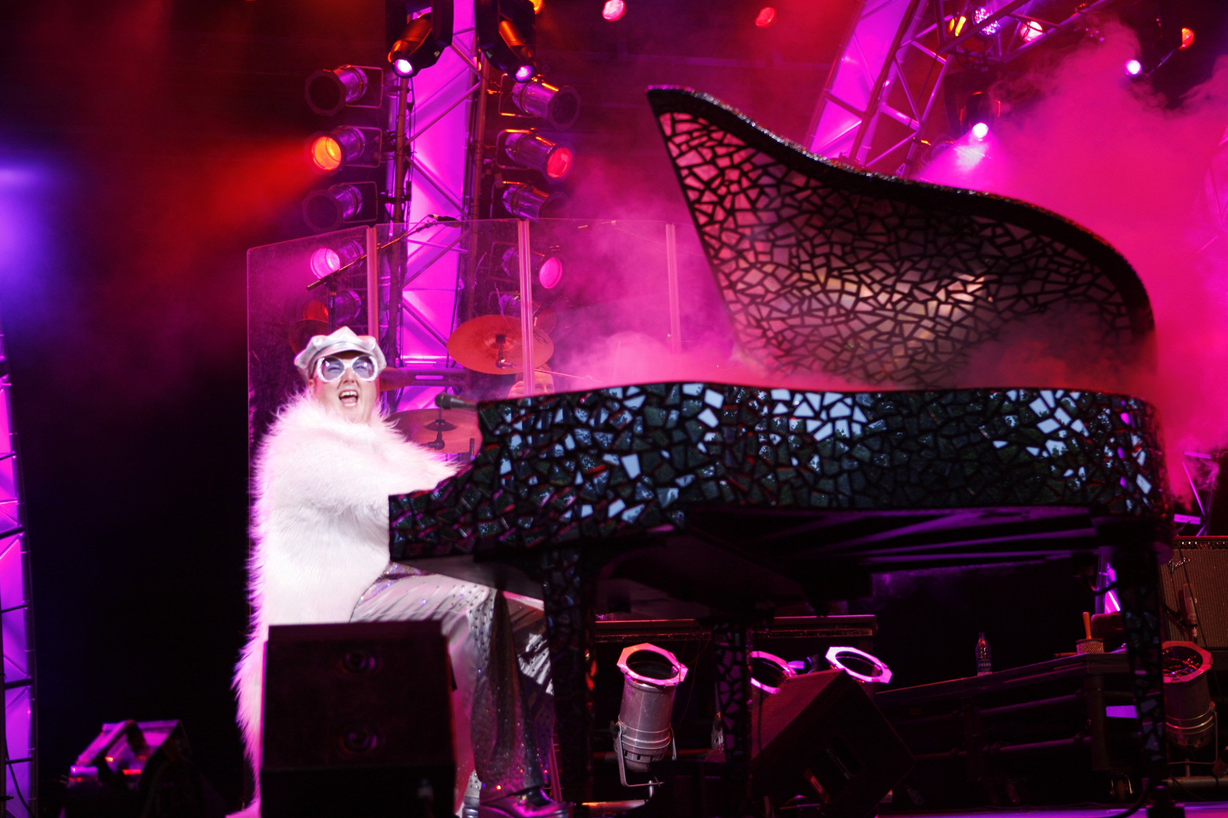 Captain Fantastic, an Elton John tribute band, will perform in Echo Park on Thursday, July 13.