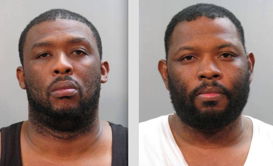 Mickey Corley of Lakeview, right, and his brother, Christopher Corley of Nyack, were arrested in connection with a homicide in Valley Stream earlier this year.