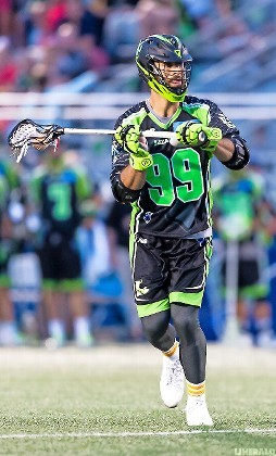 Paul Rabil leads the Lizards in scoring and had two goals and four assists in their 15-14 win over Ohio on June 29.