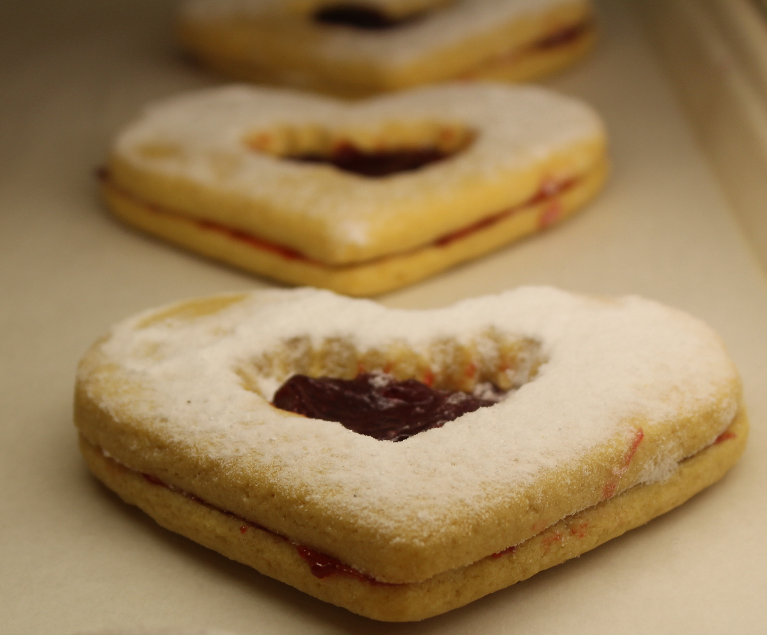 The Entenmann's jelly-filled cookies is one of many treats.