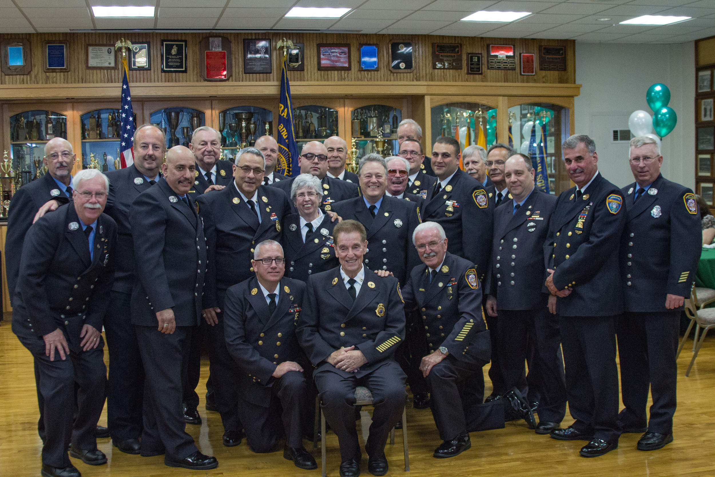 Together, the Franklin Square and Munson Fire Department works to protect and serve the community. The department honored Dennis Lyons at a dinner on June 24.