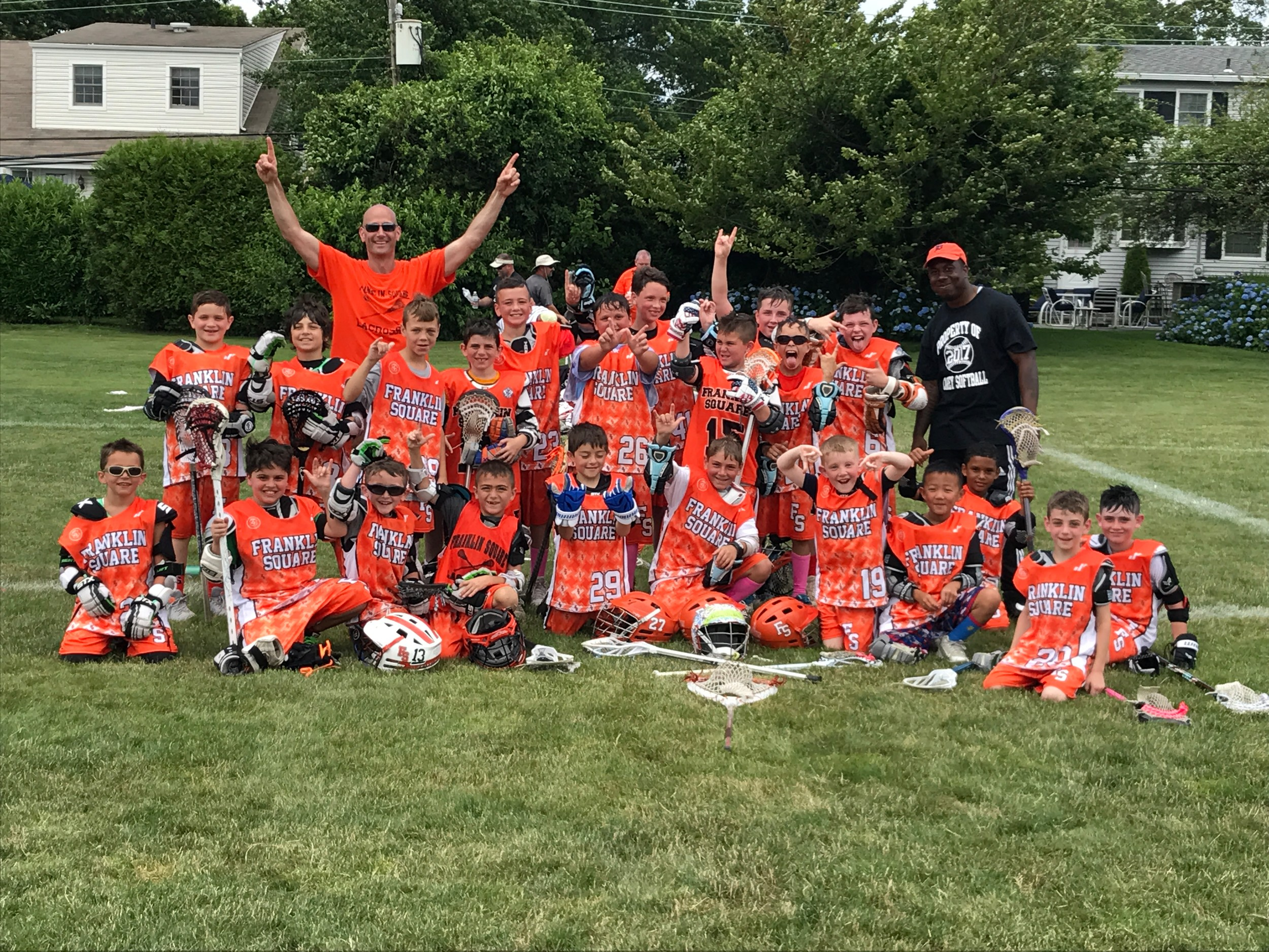 Franklin Square's boys' lacrosse team emerged victorious at the 2017 Long Island LAX Pride Fest in Garden City on July 1.
