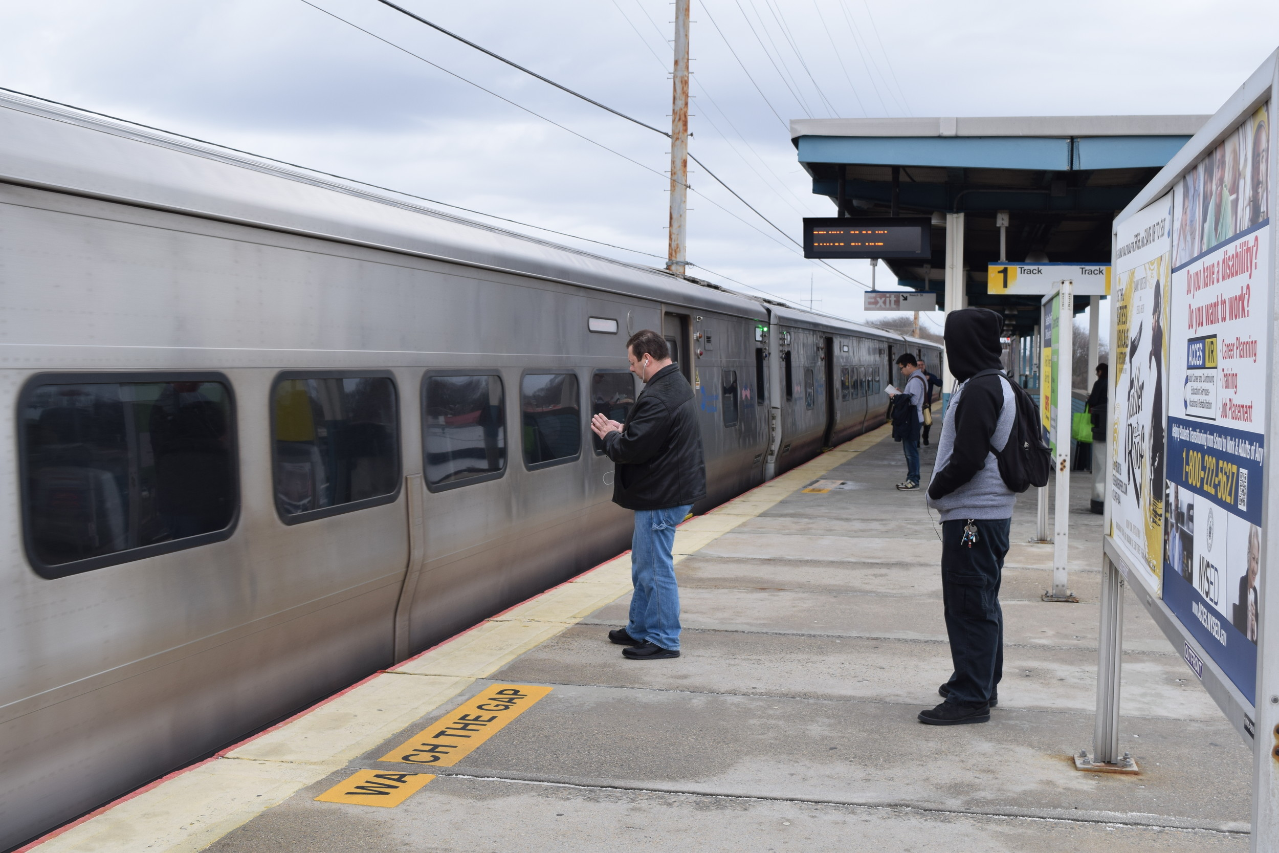 Some Wantagh commuters said last week that they were frustrated by train delays.