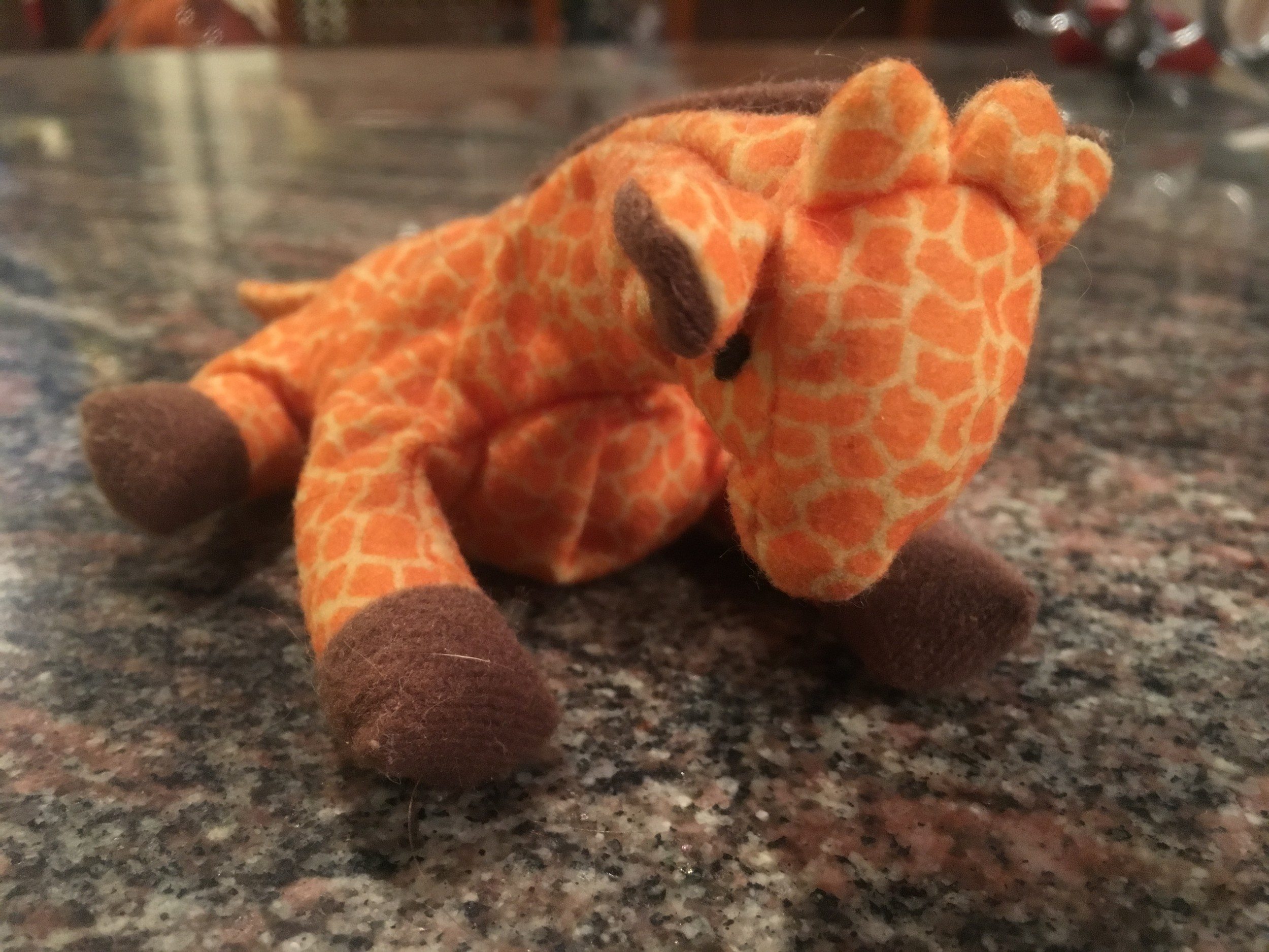 Renée's collection started with a giraffe that her husband, Harvey, referred to as a stubby.