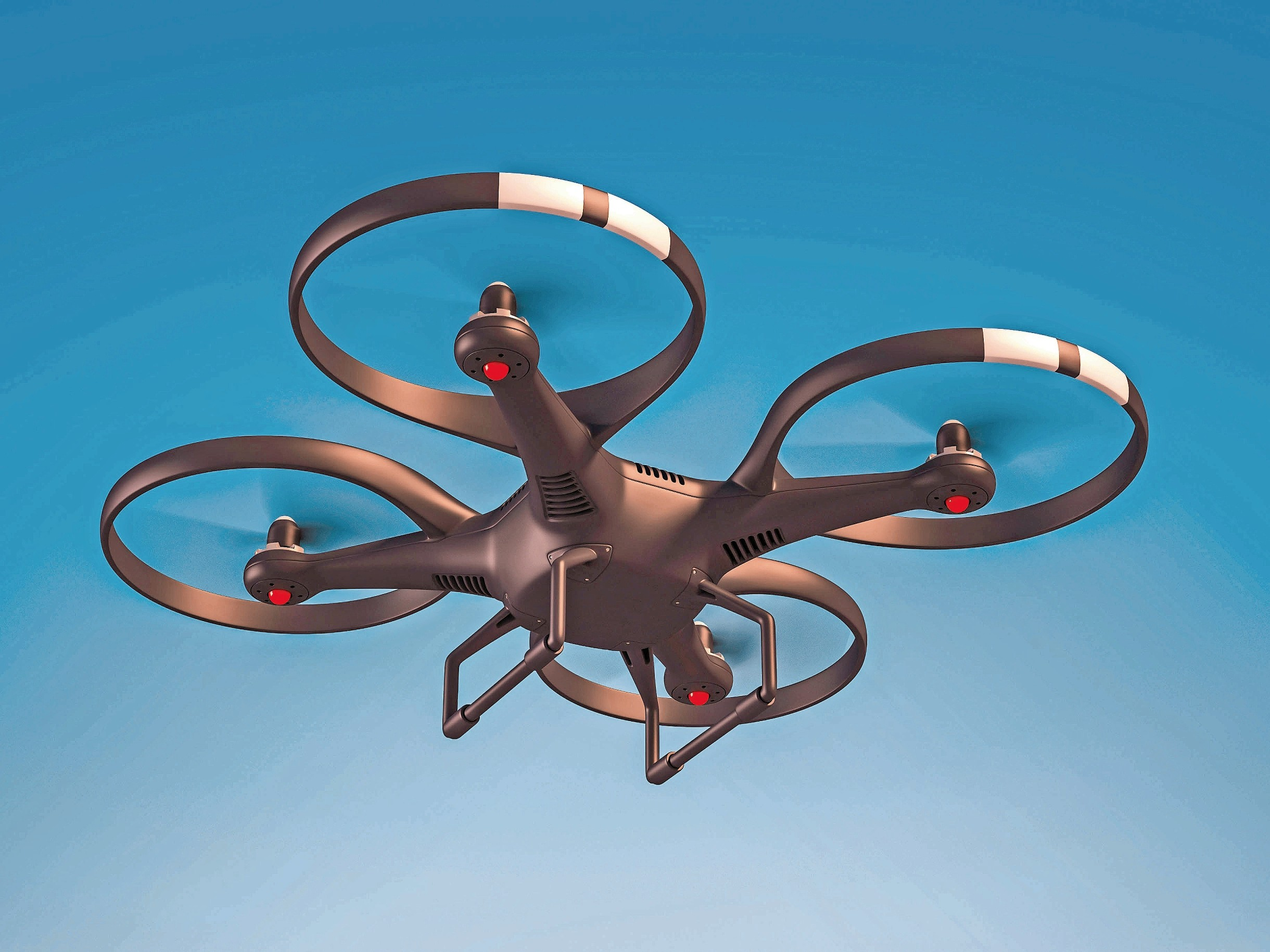 Some members of the town board say they believe drones need to be regulated when flying over town property.