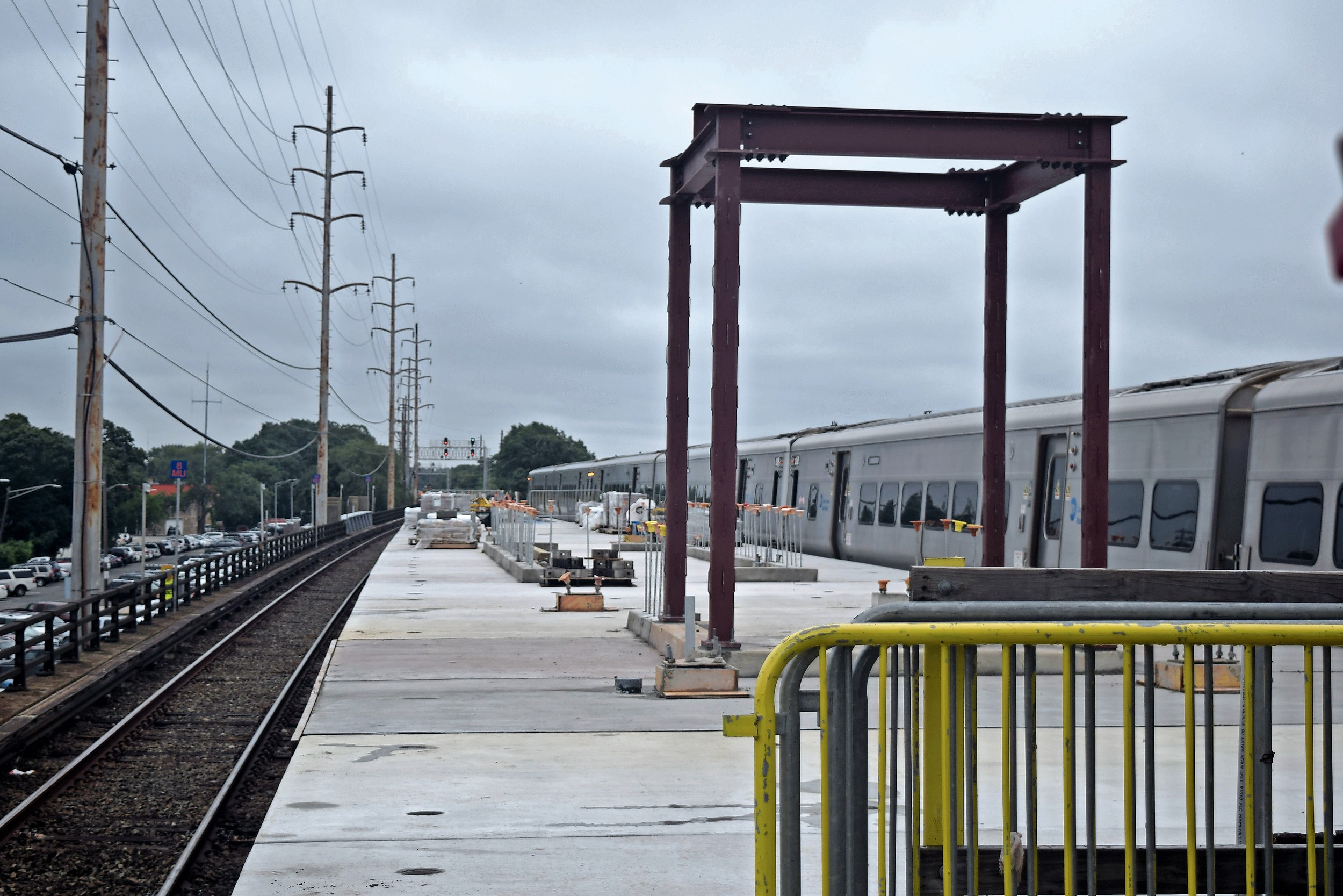 The Long Island Rail Road is about halfway through its $23.9 million rehabilitation of the Wantagh station.