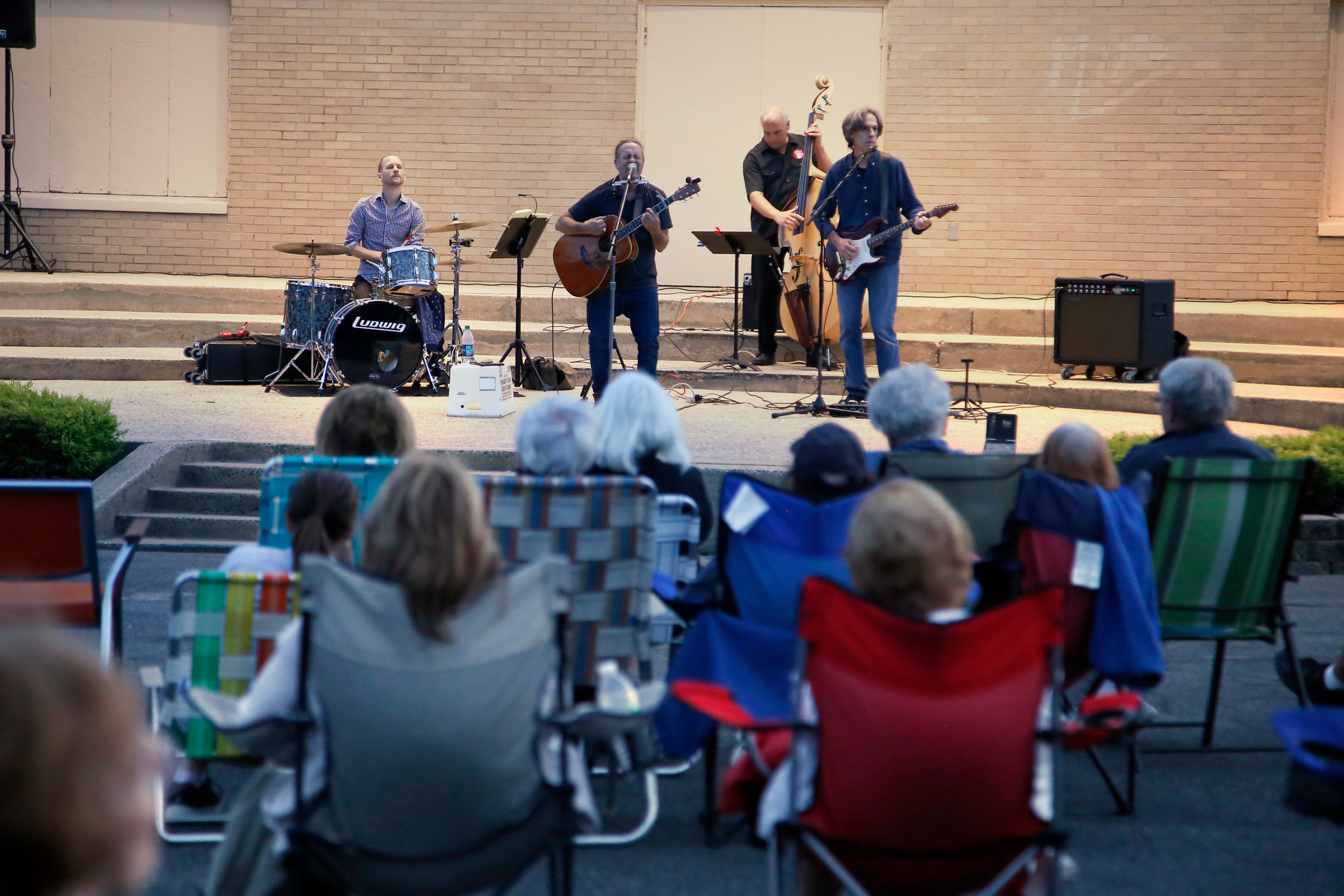 "The Marc Berger ""Ride"" Concert was held at the Valley Stream Village Green Bandshell on July 26."