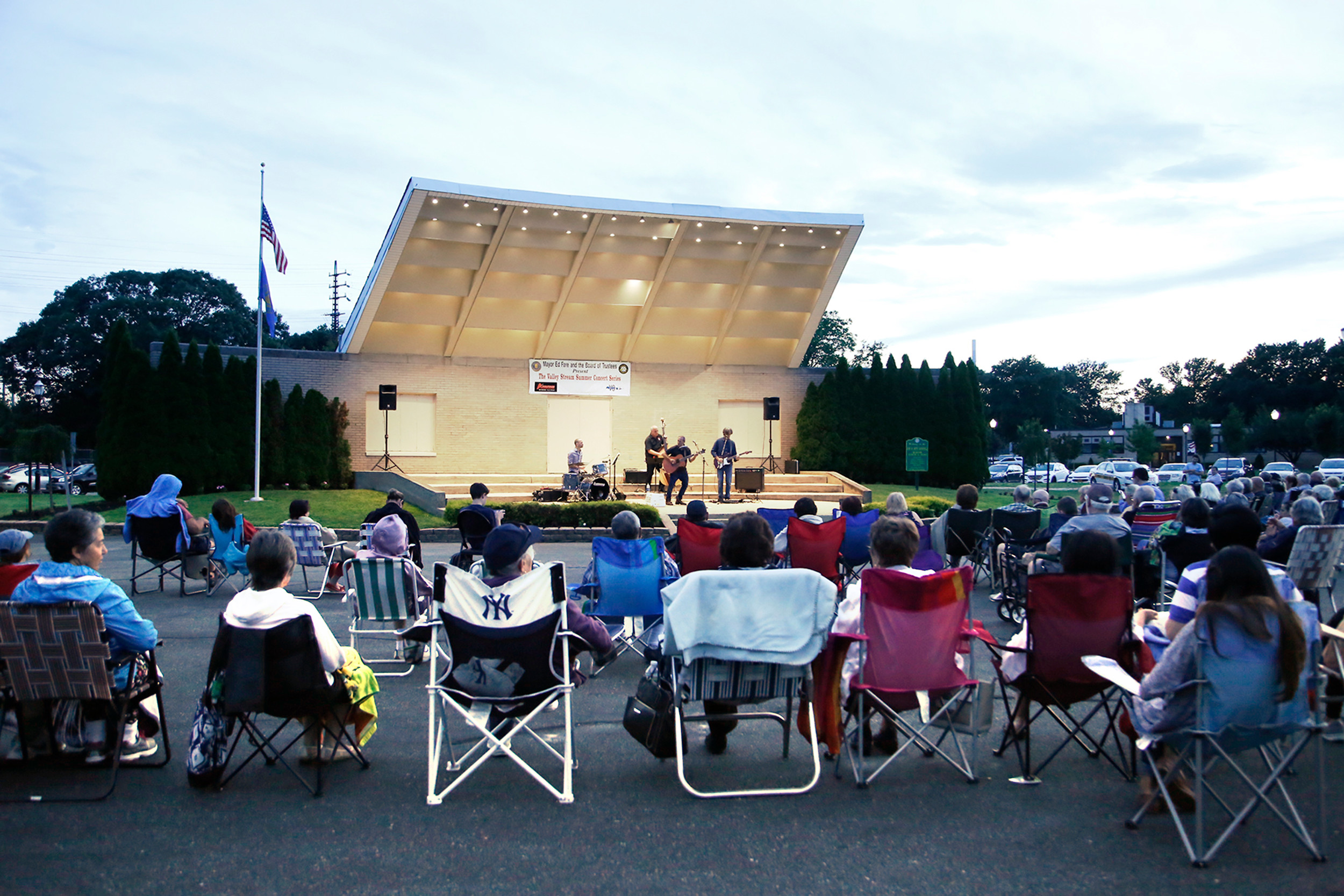 The summer concert series draws crowds from all over