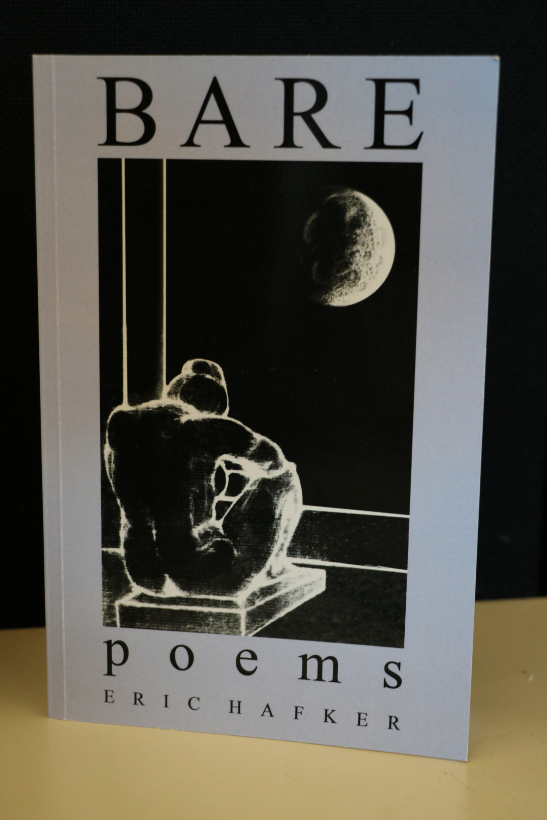 Malvernite Eric Hafker re-released his book of poetry in May.