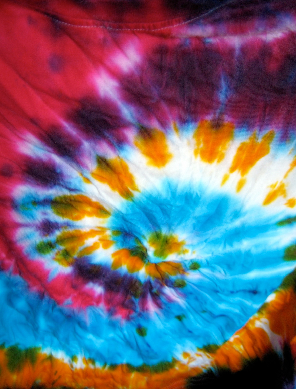Make a tie-dye T-shirt at the Malverne Public LIbrary.