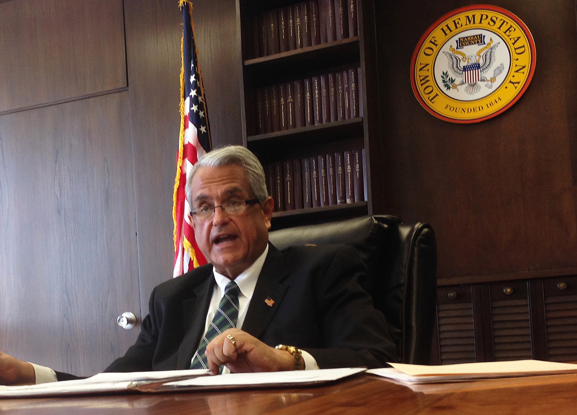 Town of Hempstead Supervisor Anthony Santino offered up a series of ethics reforms proposals this week. Among them, he is calling for an income limit of $125,000 for Council members.