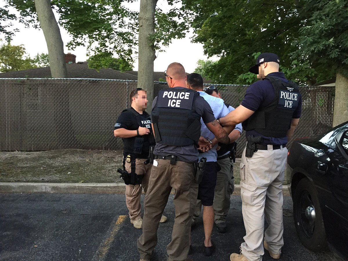U.S. Immigration and Customs Enforcement arrested 36 people from Long Island who committed sex-related crimes, as part of Operation Sex Offender Alien Removal.