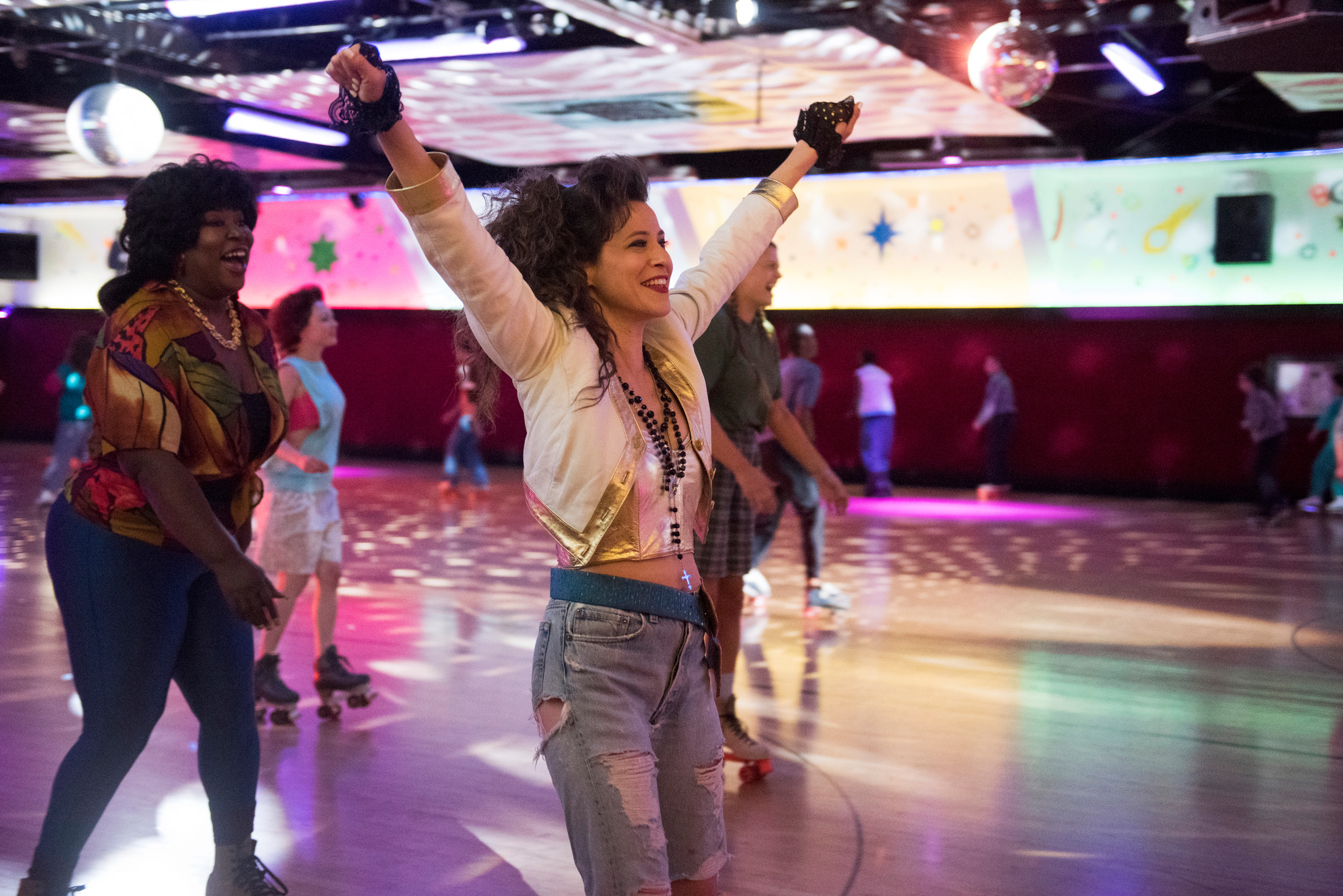 "Oceanside native Jackie Tohn stars as Melanie Rosen in the newly released hit Netflix series ""GLOW."""