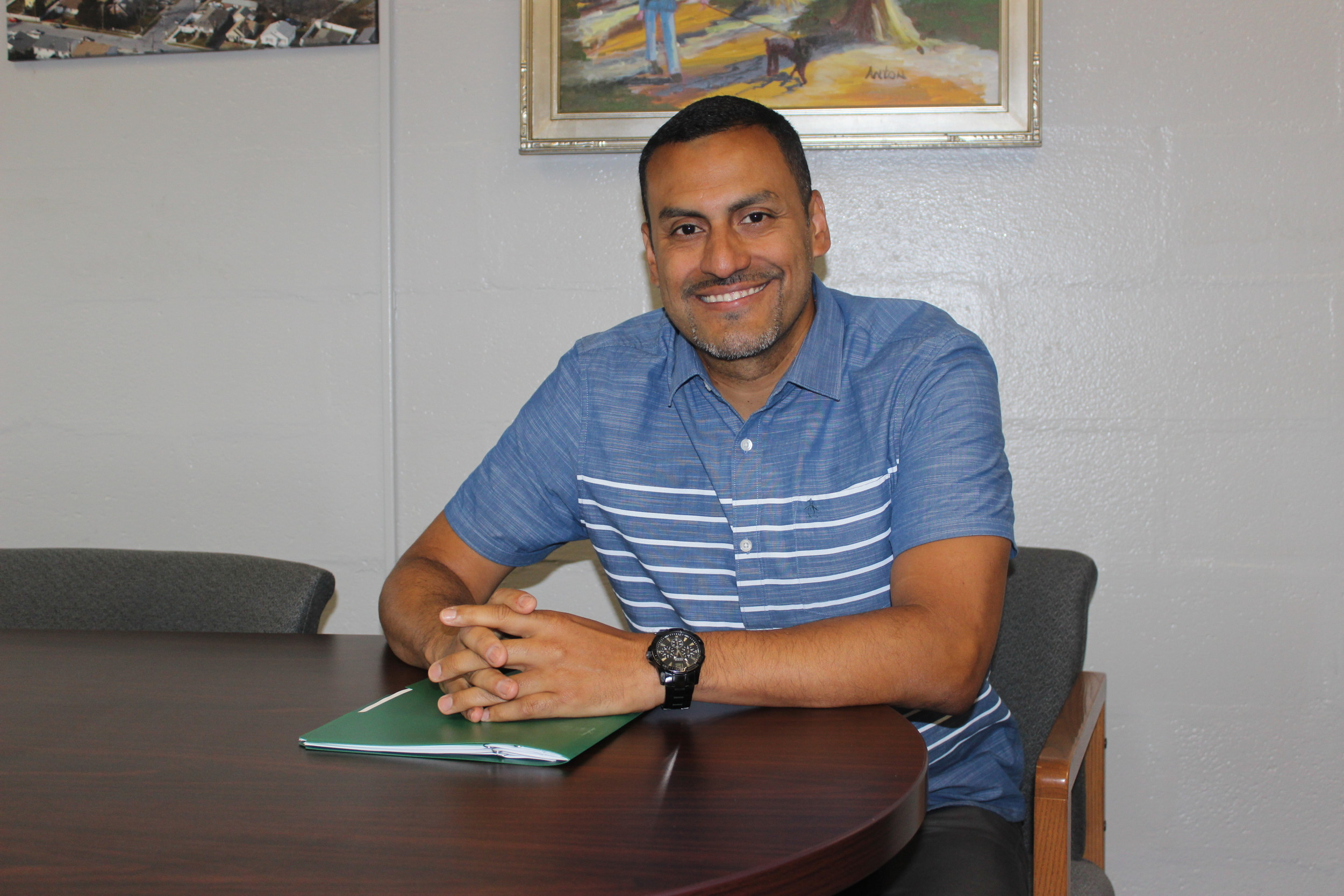 Eric Gomez will be Mepham High School's new principal starting this fall.
