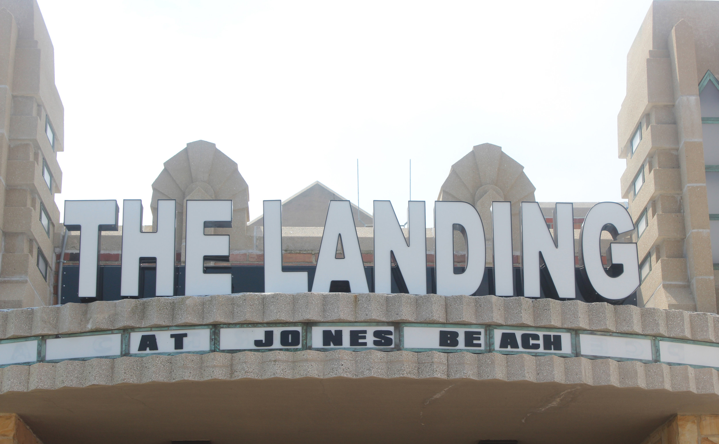 The Landing opened at Jones Beach Independence Day, bringing back to classic architecture and style of the Marine Dining Hall.