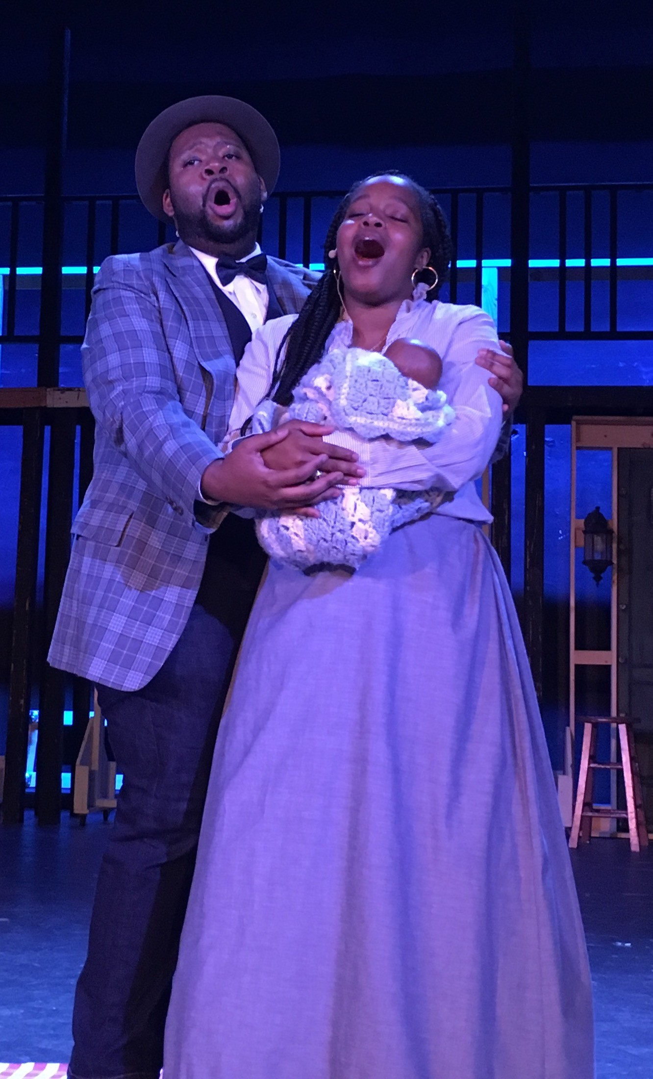 "Step back into the early 20th century in BroadHollow Theatre Company's staging of ""Ragtime"" at its venue in Elmont, Friday through Sunday."