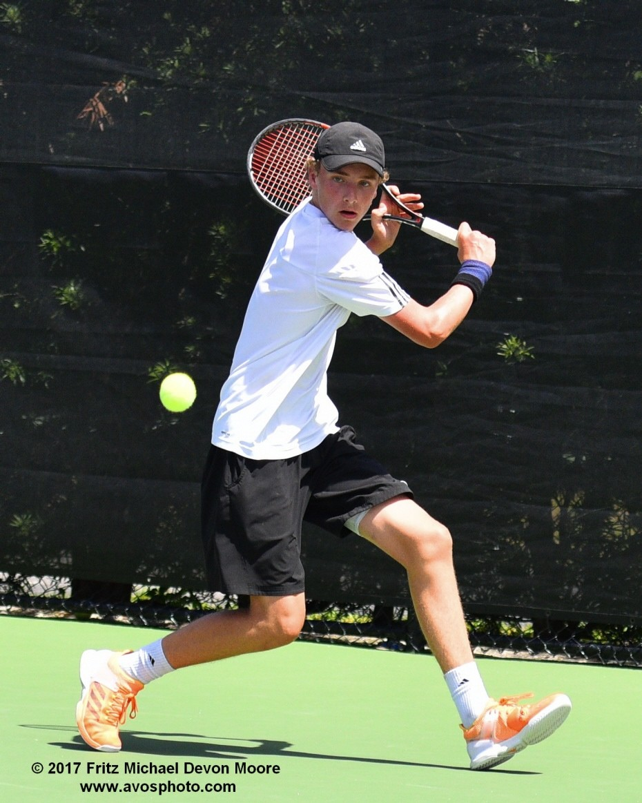 Patrick Maloney, 17, finished second at the USTA Boys'18 and Under National Clay Court Championships on July 22.