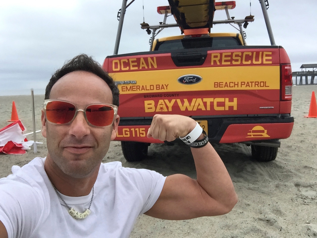 Hewlett resident Cary Epstein, a 20-year Jones Beach veteran, was named New York State Lifeguard of the Year.