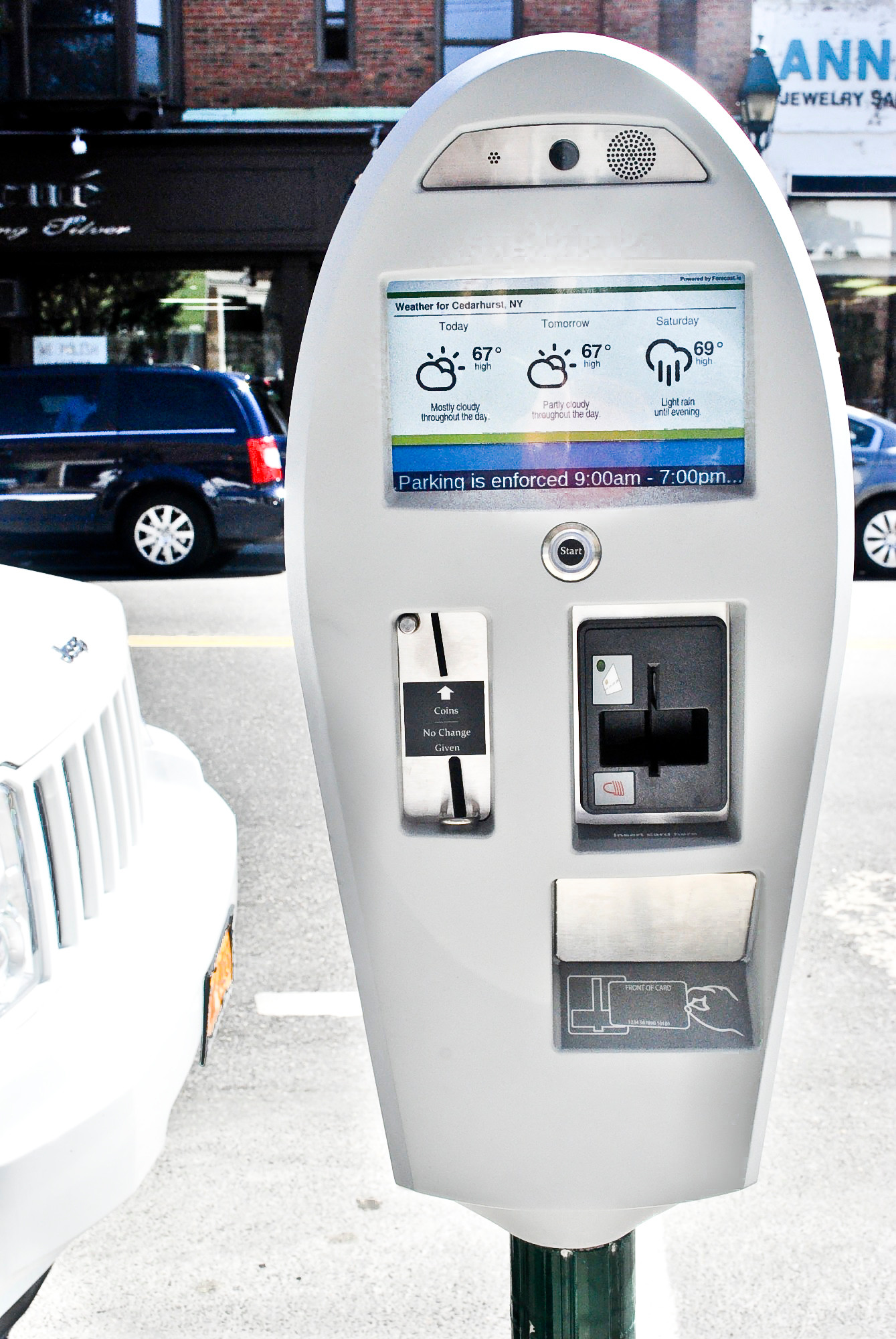 Cedarhurst village officials had Municipal Parking Systems withdraw an additional 30-cent transaction fee for using the Sentry Parking app.
