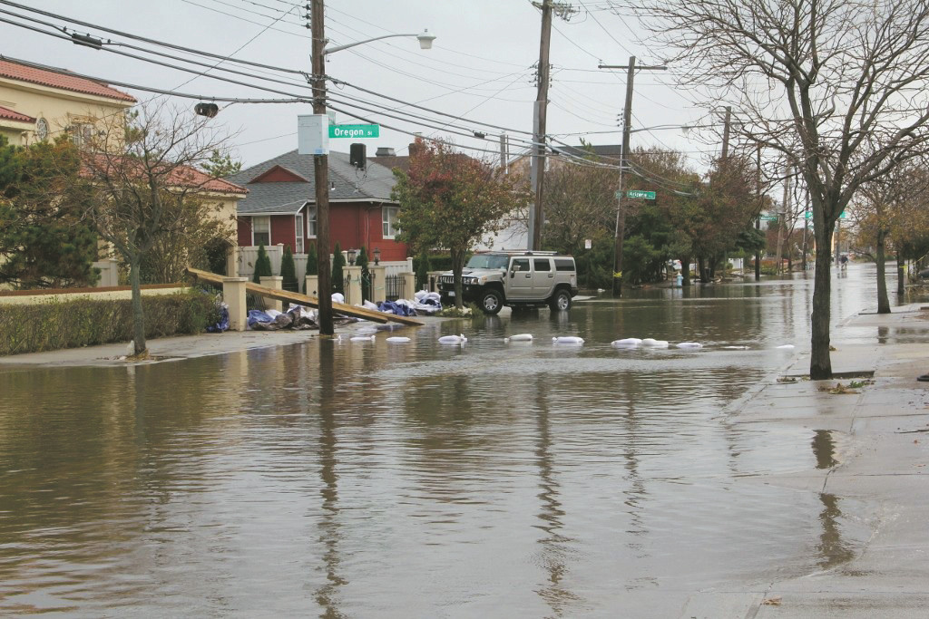 Long Beach was particularly devastated during Hurricane Sandy in 2012.