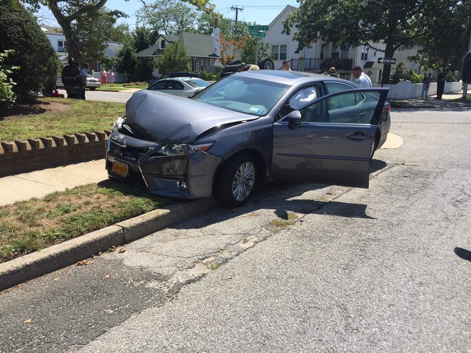The Long Beach Fire Department responded to a two-car collision at the intersection of East Chester Street and Franklin Boulevard on Thursday at around 12:18 p.m.
