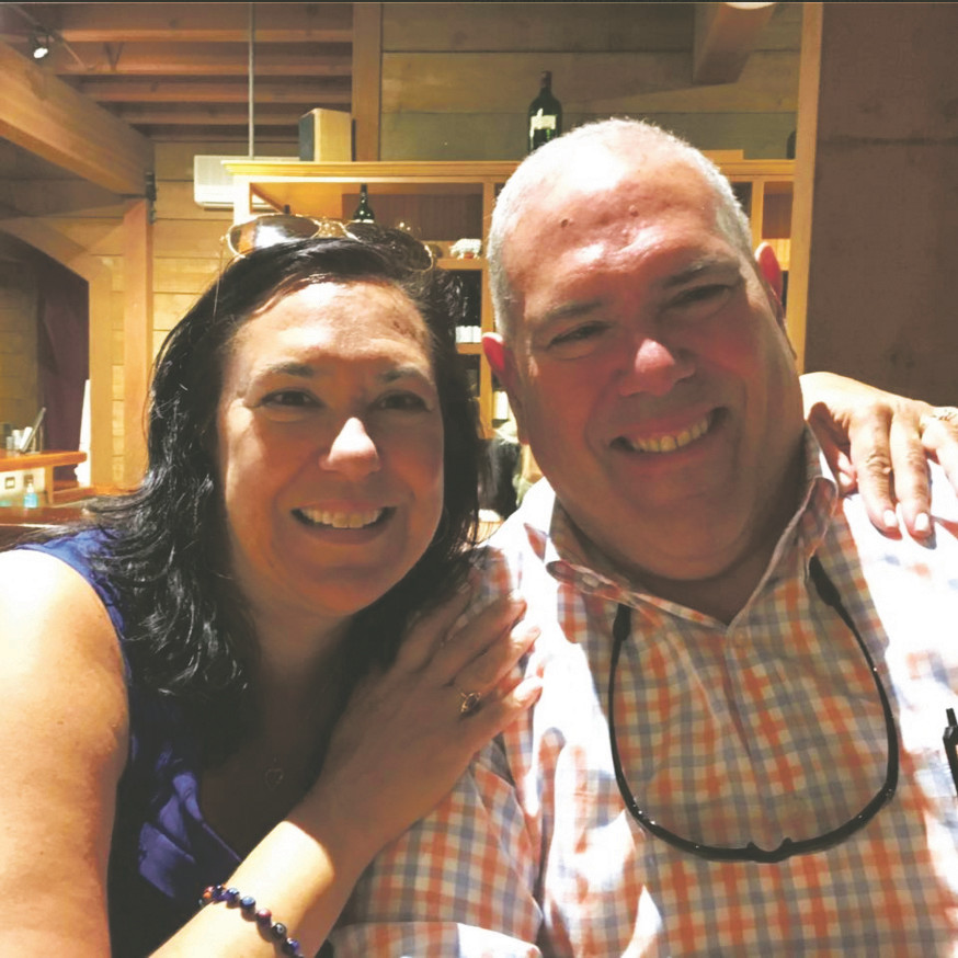 Domenick Tarantino, 62, was an accountant who had his own firm in North Valley Stream, where he worked with his sister, Janice Penachio, above. He died suddenly of a heart attack on Aug. 3.