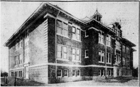 The Oceanside School District's first modern school. Built in 1911, it would later become known as School No. 1.