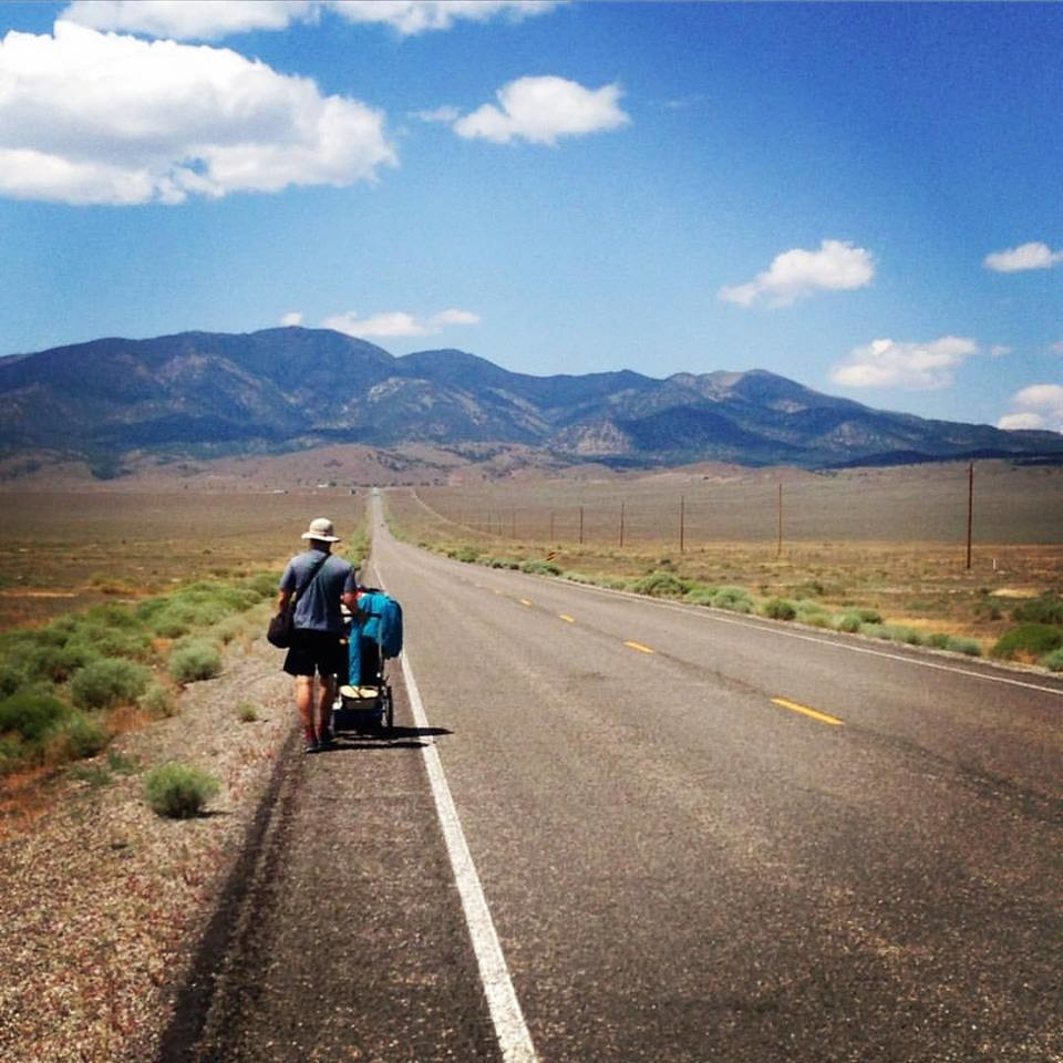 Rockville Centre's Daniel Finnegan has endured plenty of hot days on Nevada's Route 50, known as the loneliest road in America.