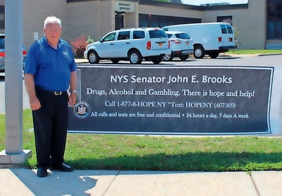 Brooks said that he is working with anti-drug groups in the Wantagh, Seaford, Levittown and Massapequa area to tackle opioid abuse.